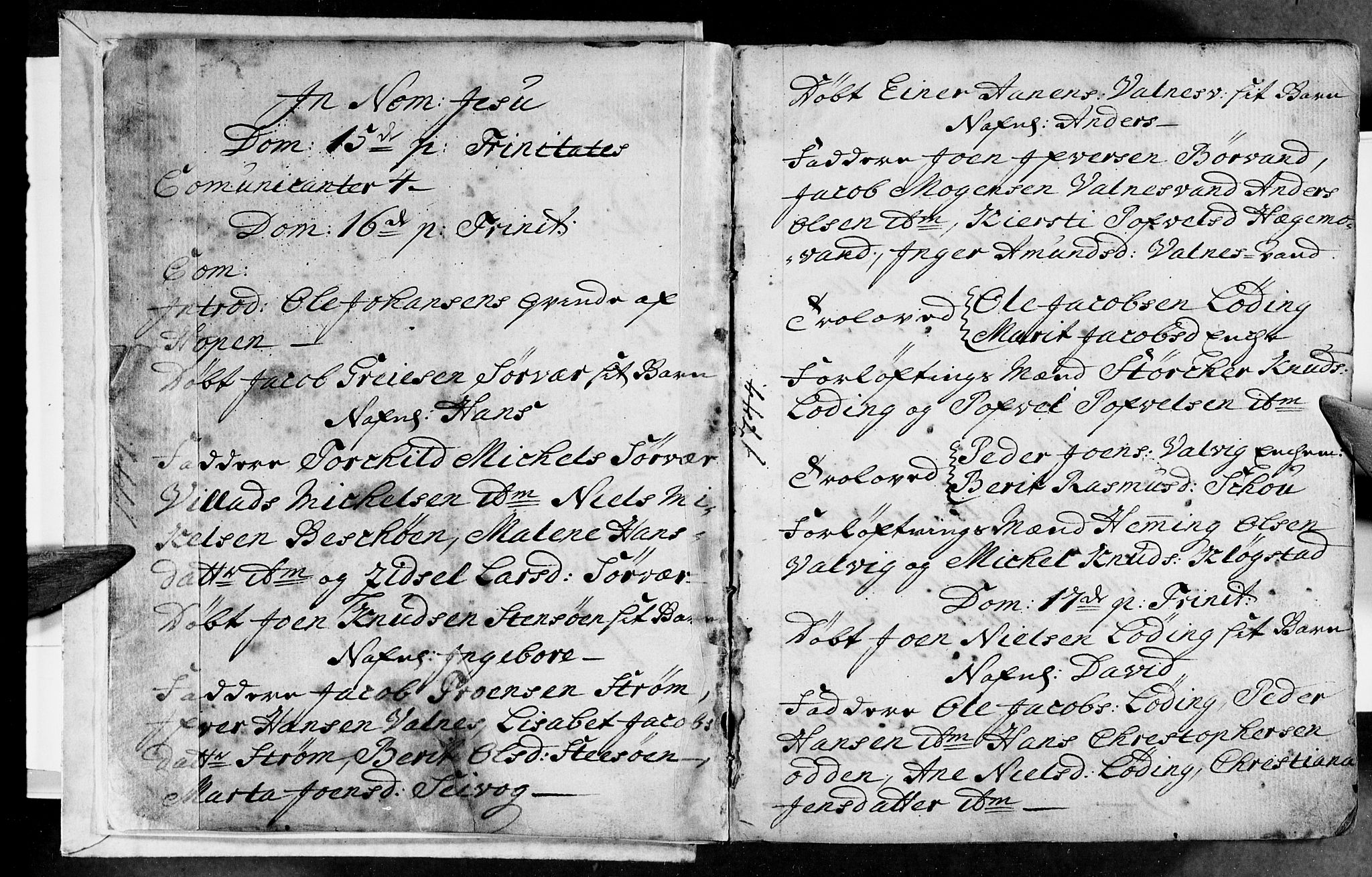 SAT, Ministerialprotokoller, klokkerbøker og fødselsregistre - Nordland, 801/L0002: Ministerialbok nr. 801A02, 1744-1761