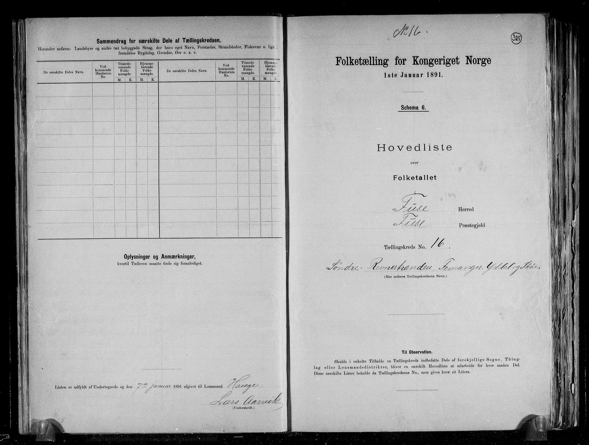 RA, Folketelling 1891 for 1241 Fusa herred, 1891, s. 34