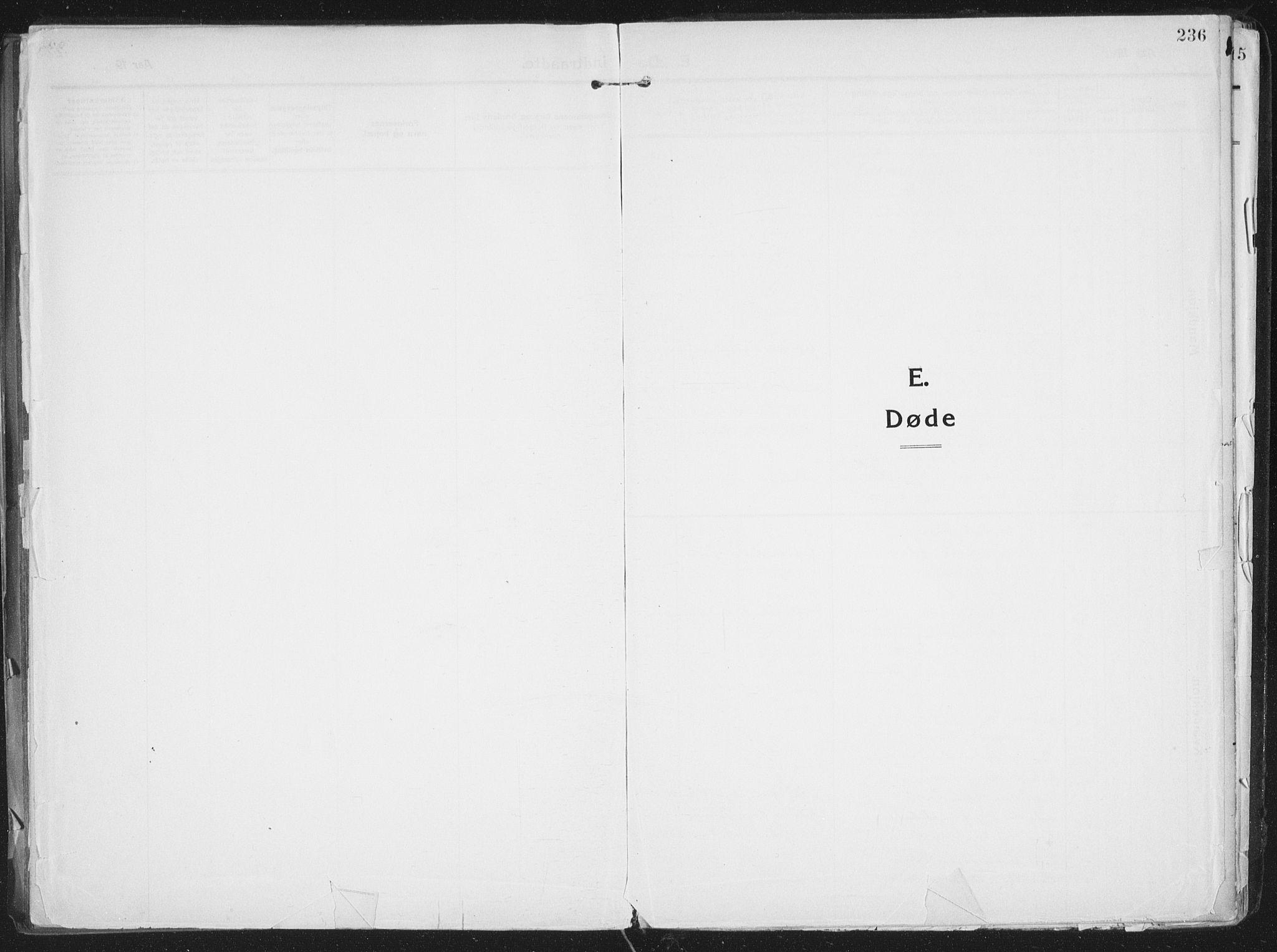 SATØ, Lenvik sokneprestembete, H/Ha: Ministerialbok nr. 16, 1910-1924, s. 236