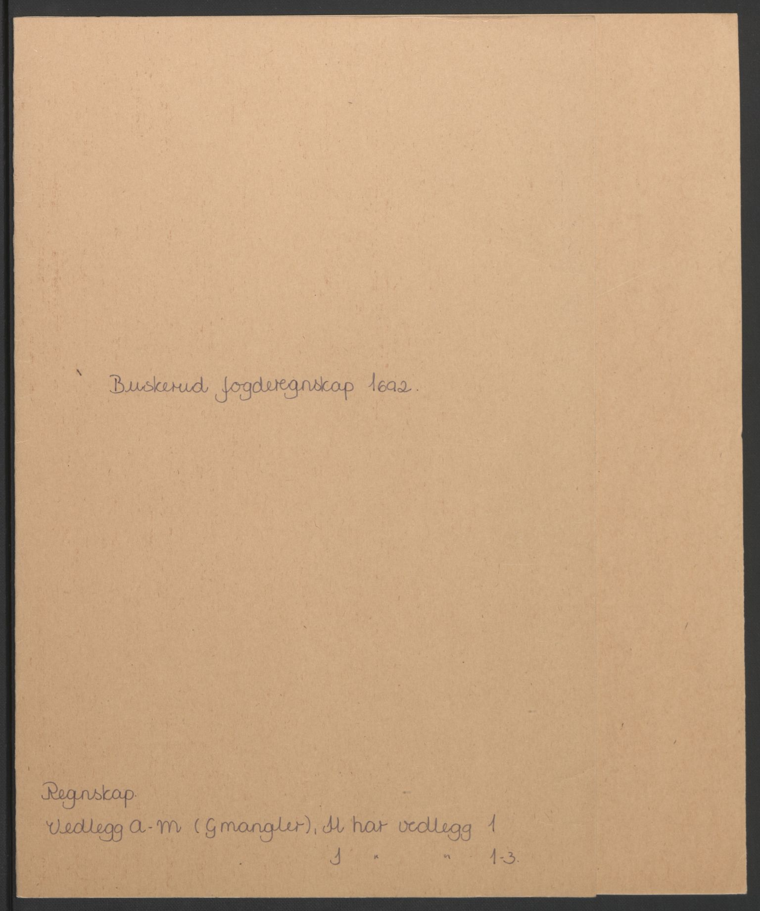 RA, Rentekammeret inntil 1814, Reviderte regnskaper, Fogderegnskap, R25/L1681: Fogderegnskap Buskerud, 1691-1692, s. 305