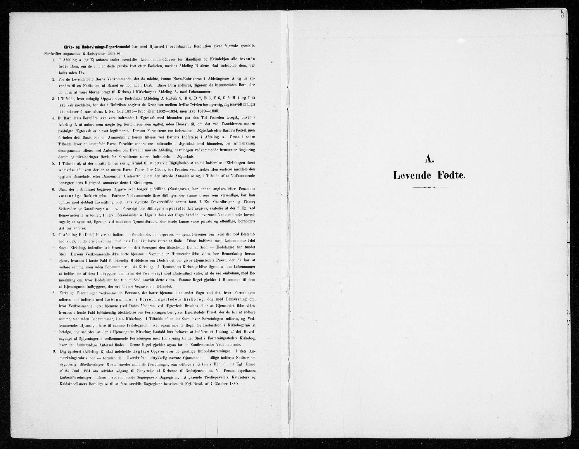 SAH, Fåberg prestekontor, Ministerialbok nr. 11, 1899-1913, s. 3