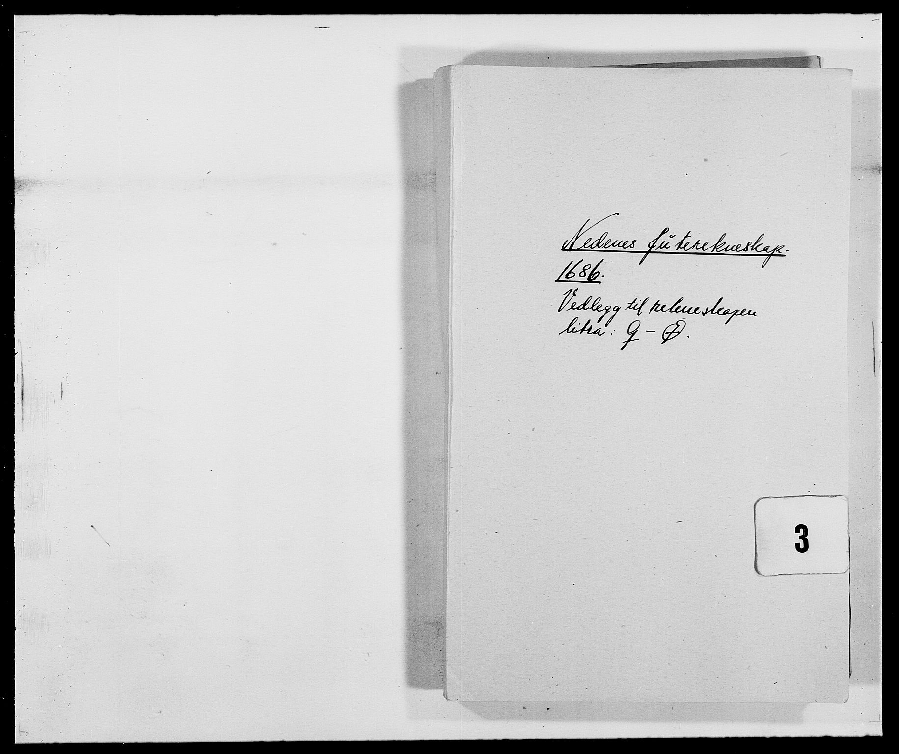 RA, Rentekammeret inntil 1814, Reviderte regnskaper, Fogderegnskap, R39/L2308: Fogderegnskap Nedenes, 1684-1689, s. 330