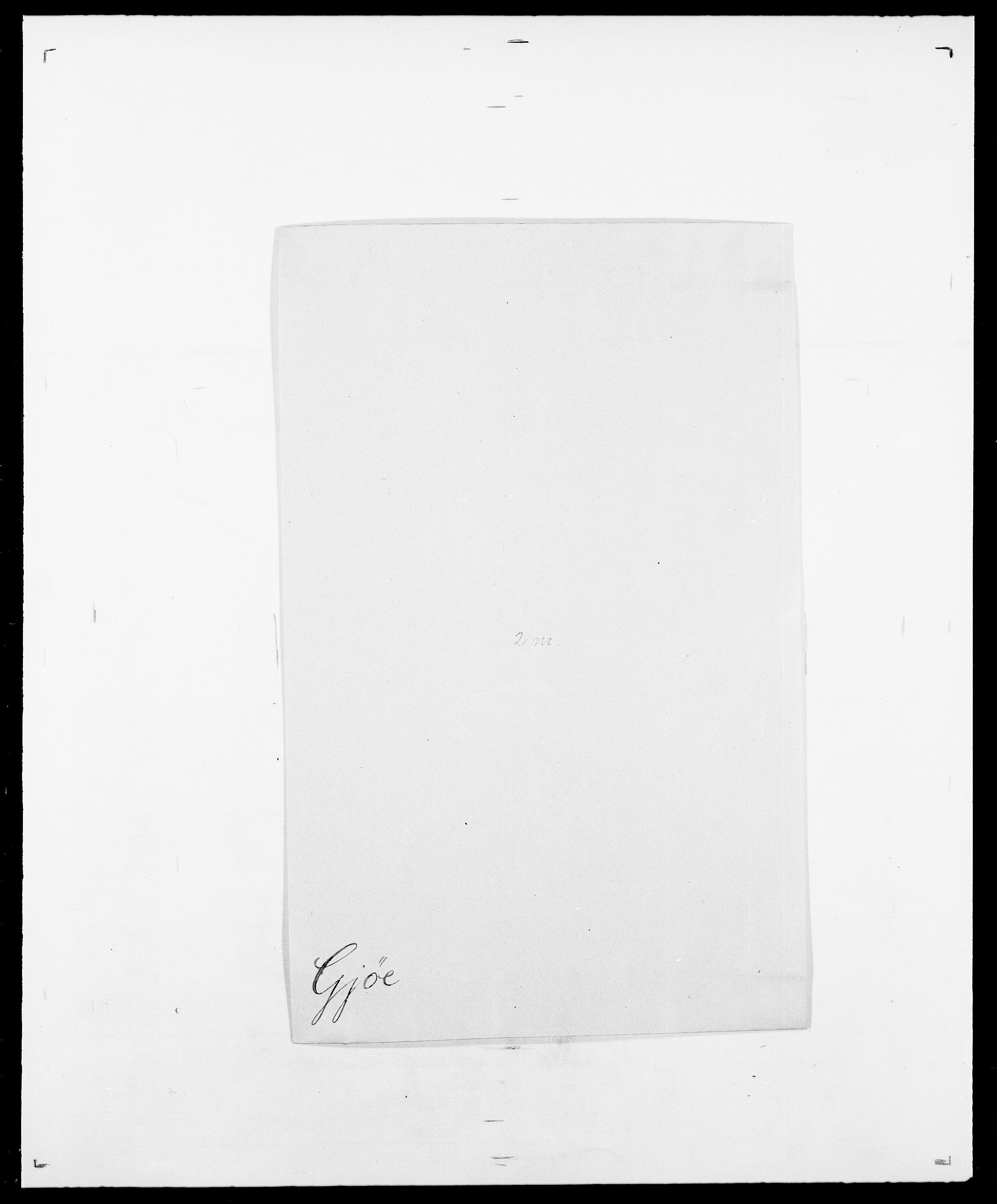 SAO, Delgobe, Charles Antoine - samling, D/Da/L0014: Giebdhausen - Grip, s. 209