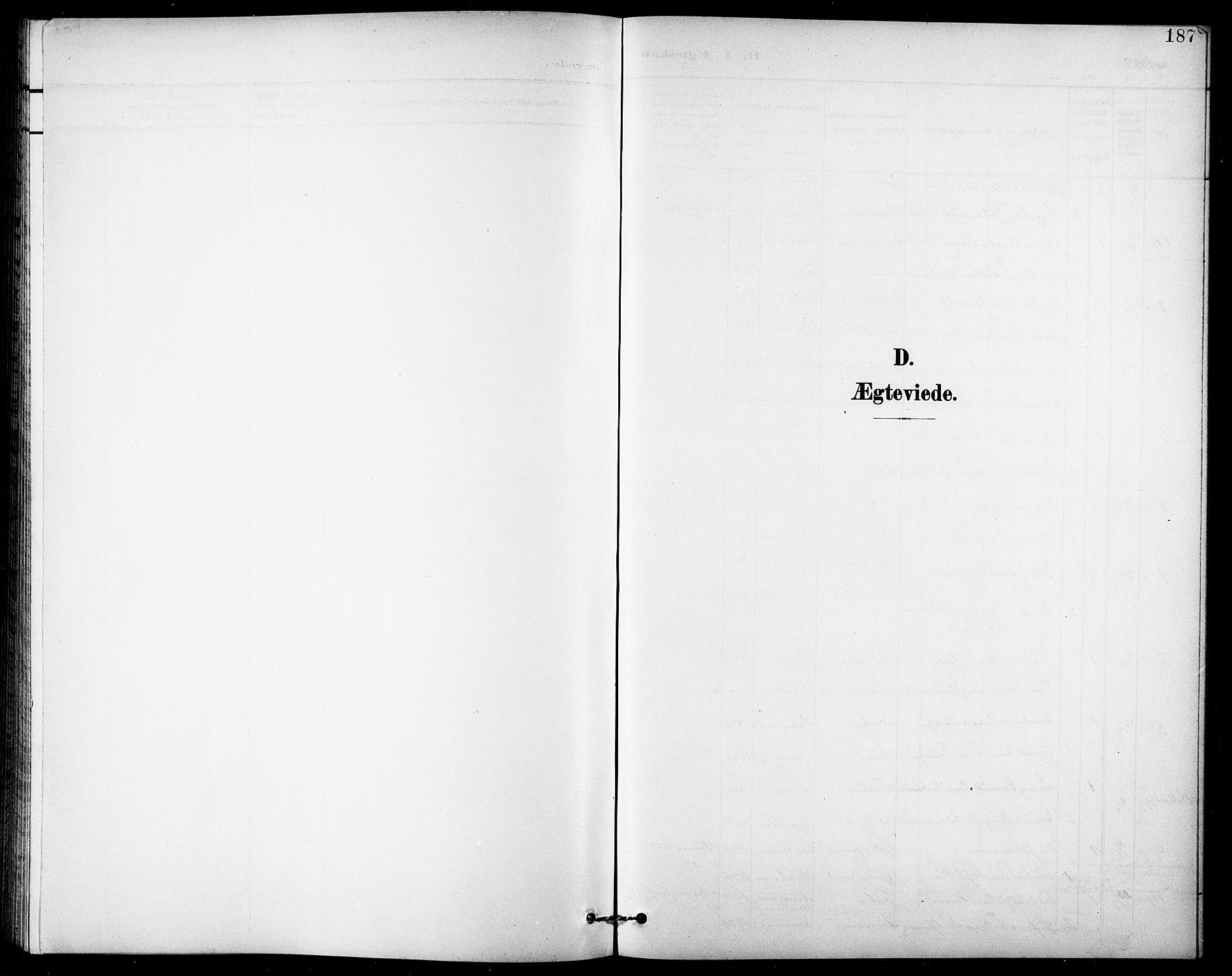 SATØ, Lenvik sokneprestembete, H/Ha: Klokkerbok nr. 8, 1899-1911, s. 187