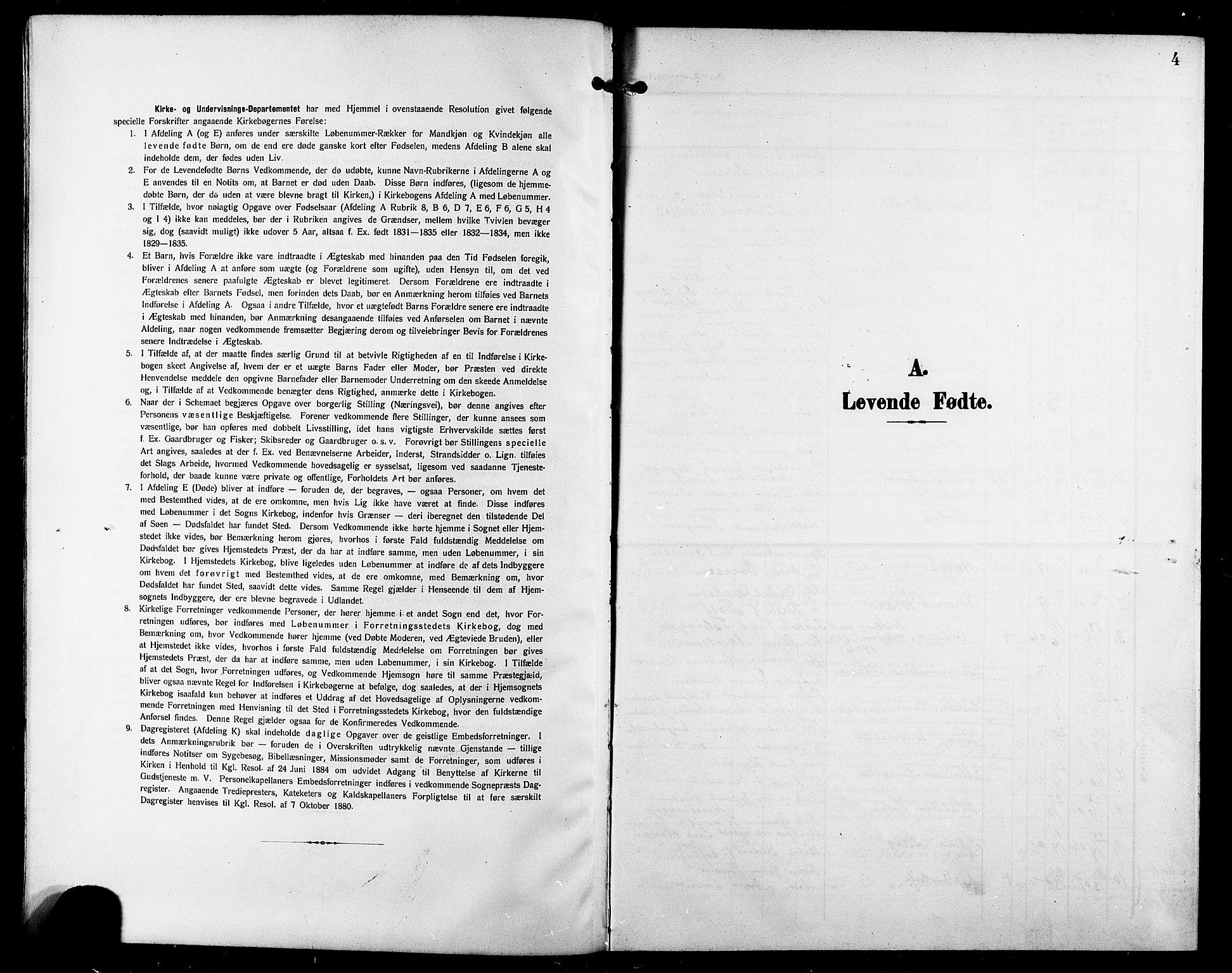 SATØ, Trondenes sokneprestkontor, H/Hb/L0012klokker: Klokkerbok nr. 12, 1907-1916, s. 4