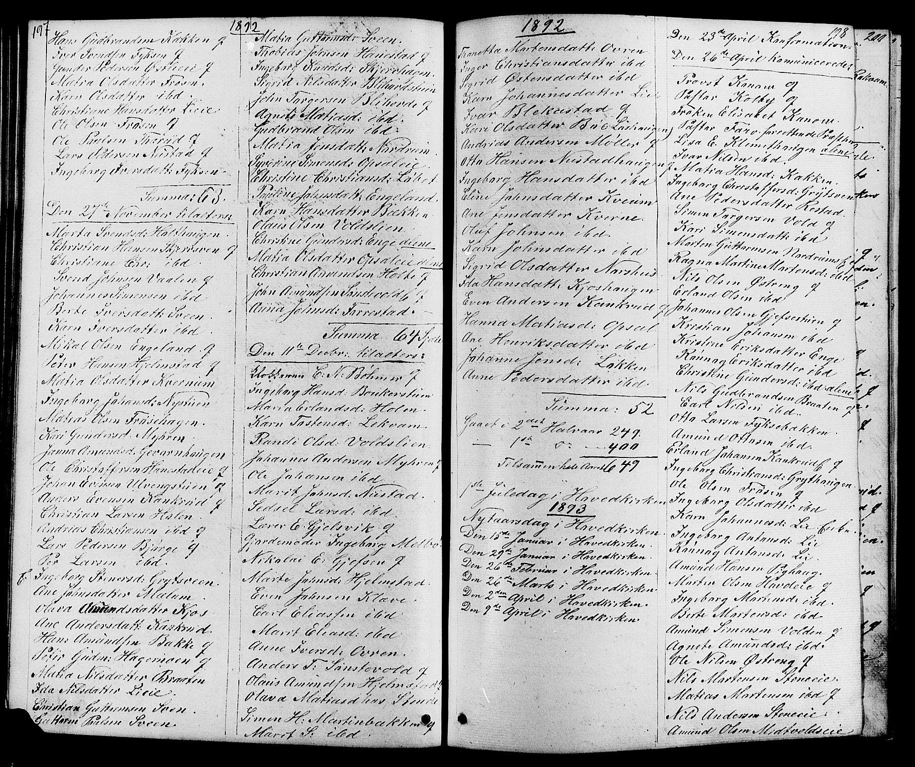 SAH, Østre Gausdal prestekontor, Klokkerbok nr. 1, 1863-1893, s. 197-198