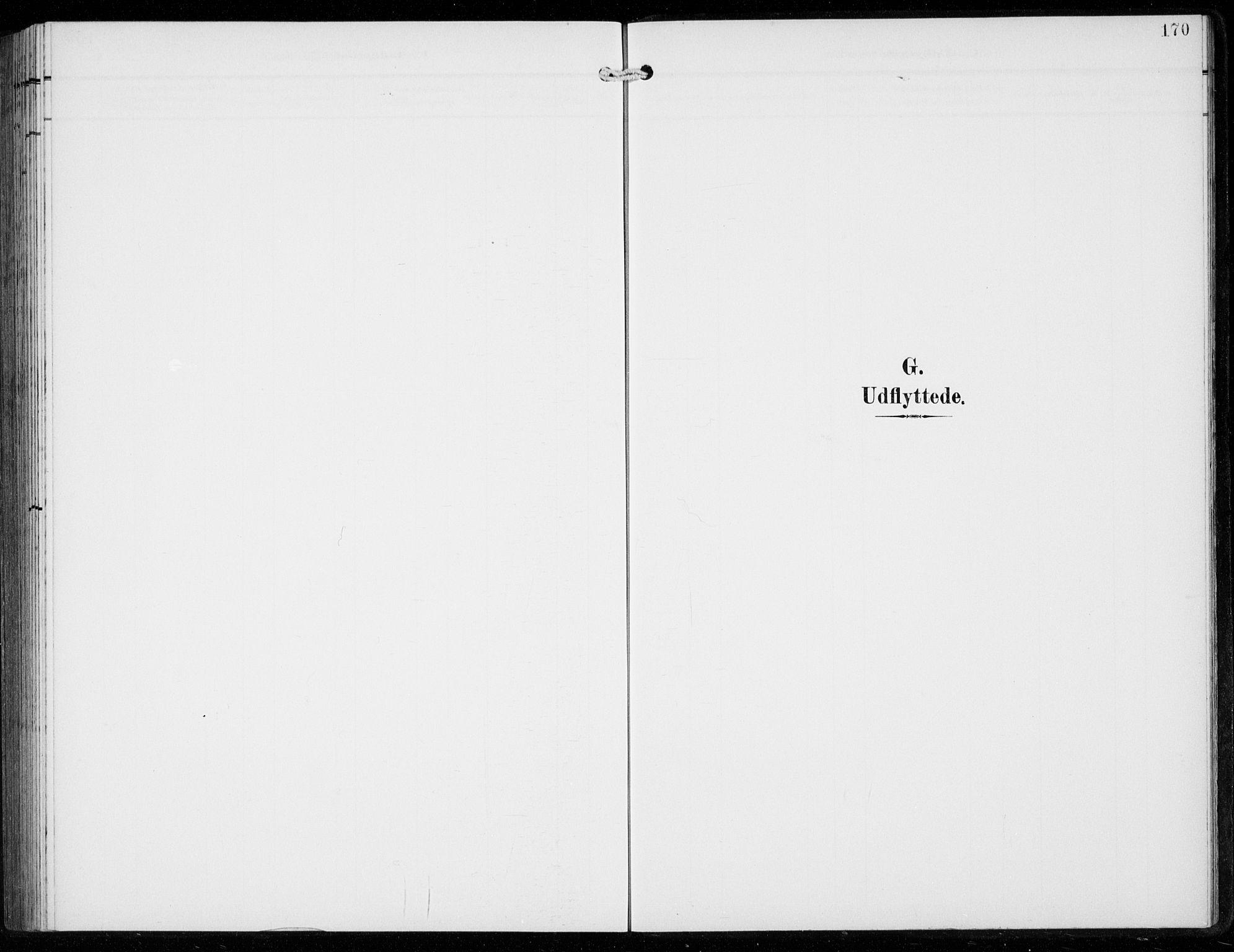 SAB, Ullensvang Sokneprestembete, H/Hab: Klokkerbok nr. F  1, 1902-1935, s. 170