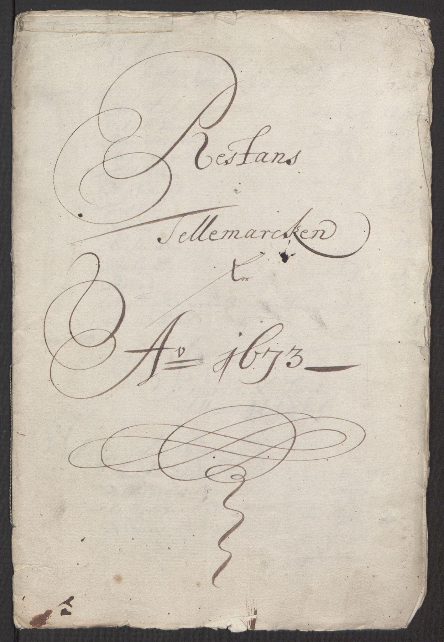 RA, Rentekammeret inntil 1814, Reviderte regnskaper, Fogderegnskap, R35/L2061: Fogderegnskap Øvre og Nedre Telemark, 1673-1674, s. 196