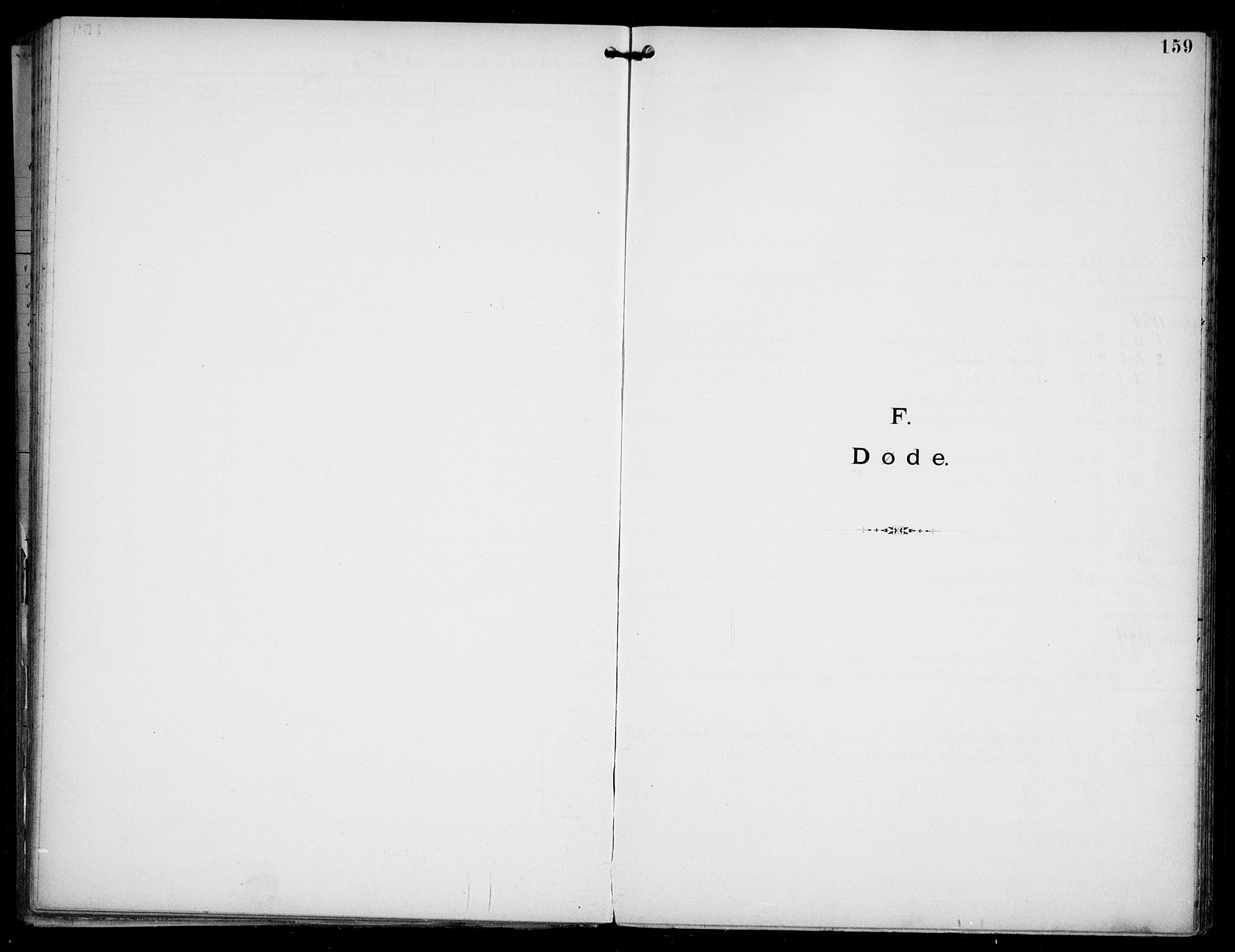 SAO, Den katolsk apostoliske menighet i Oslo , F/Fa/L0002: Dissenterprotokoll nr. 2, 1892-1937, s. 159