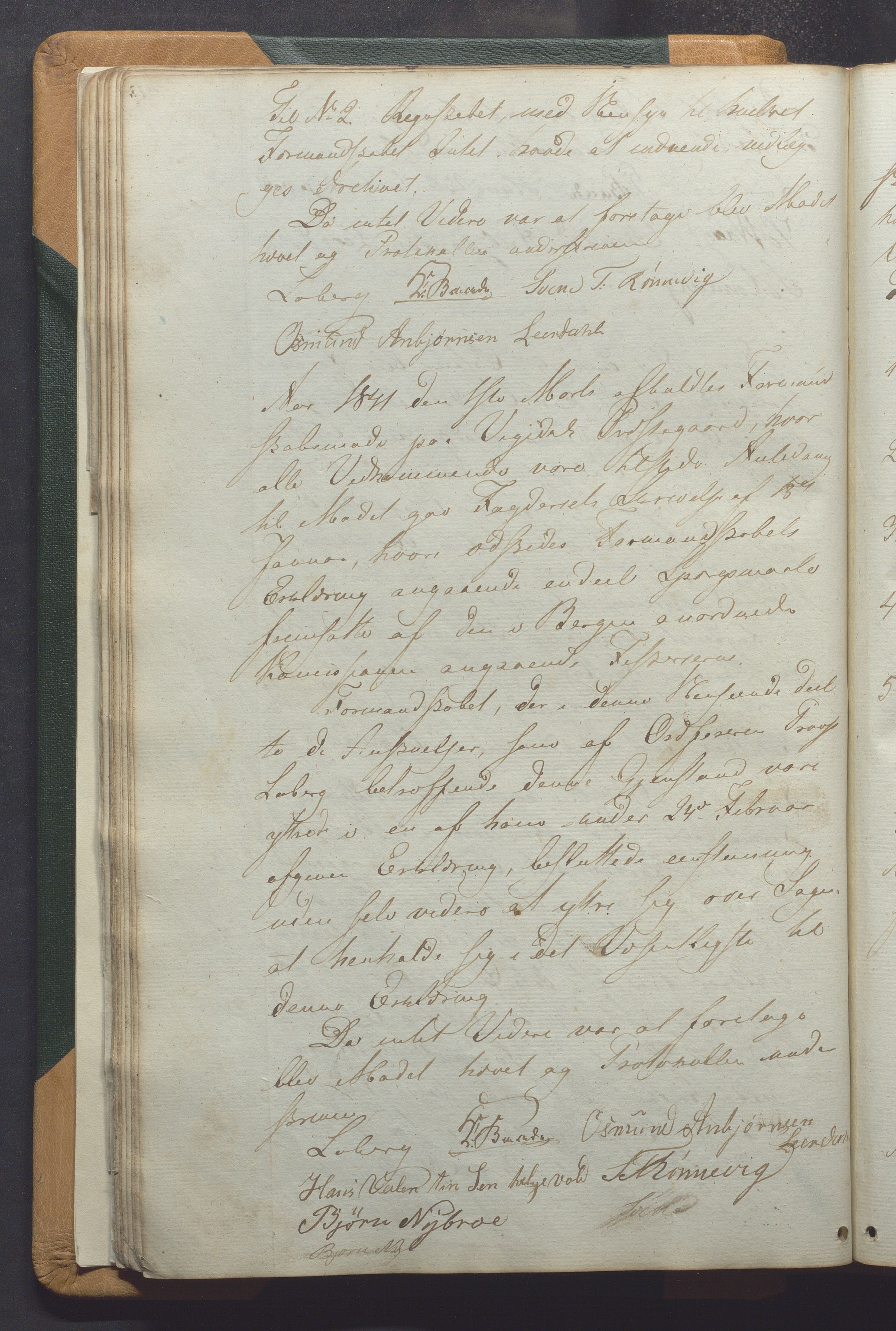 IKAR, Vikedal kommune - Formannskapet, Aaa/L0001: Møtebok, 1837-1874, s. 41b
