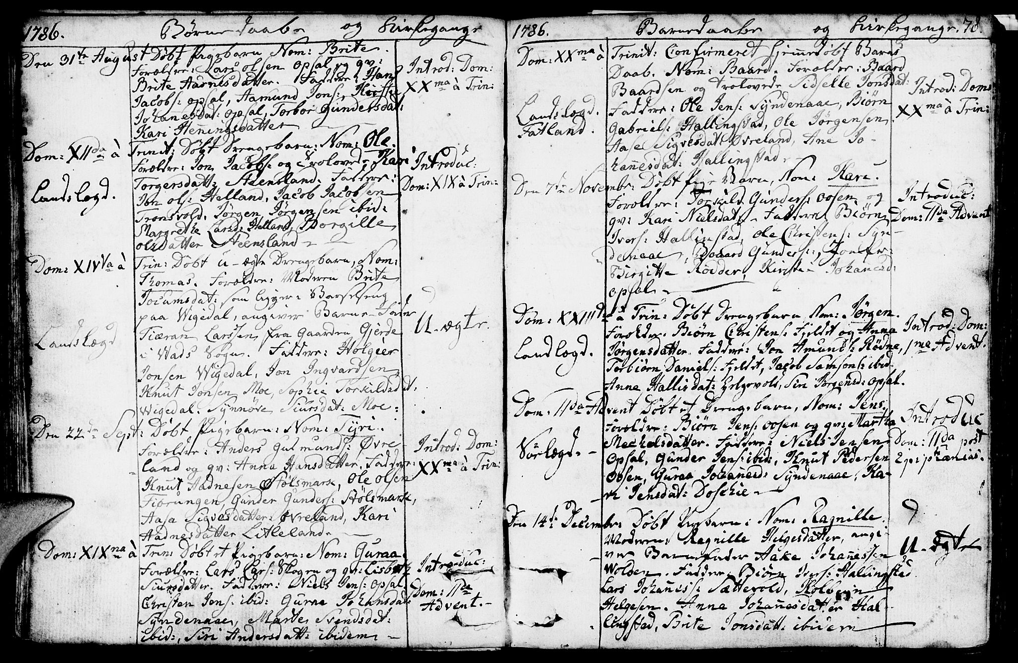 SAST, Vikedal sokneprestkontor, IV: Ministerialbok nr. A 2, 1779-1817, s. 78