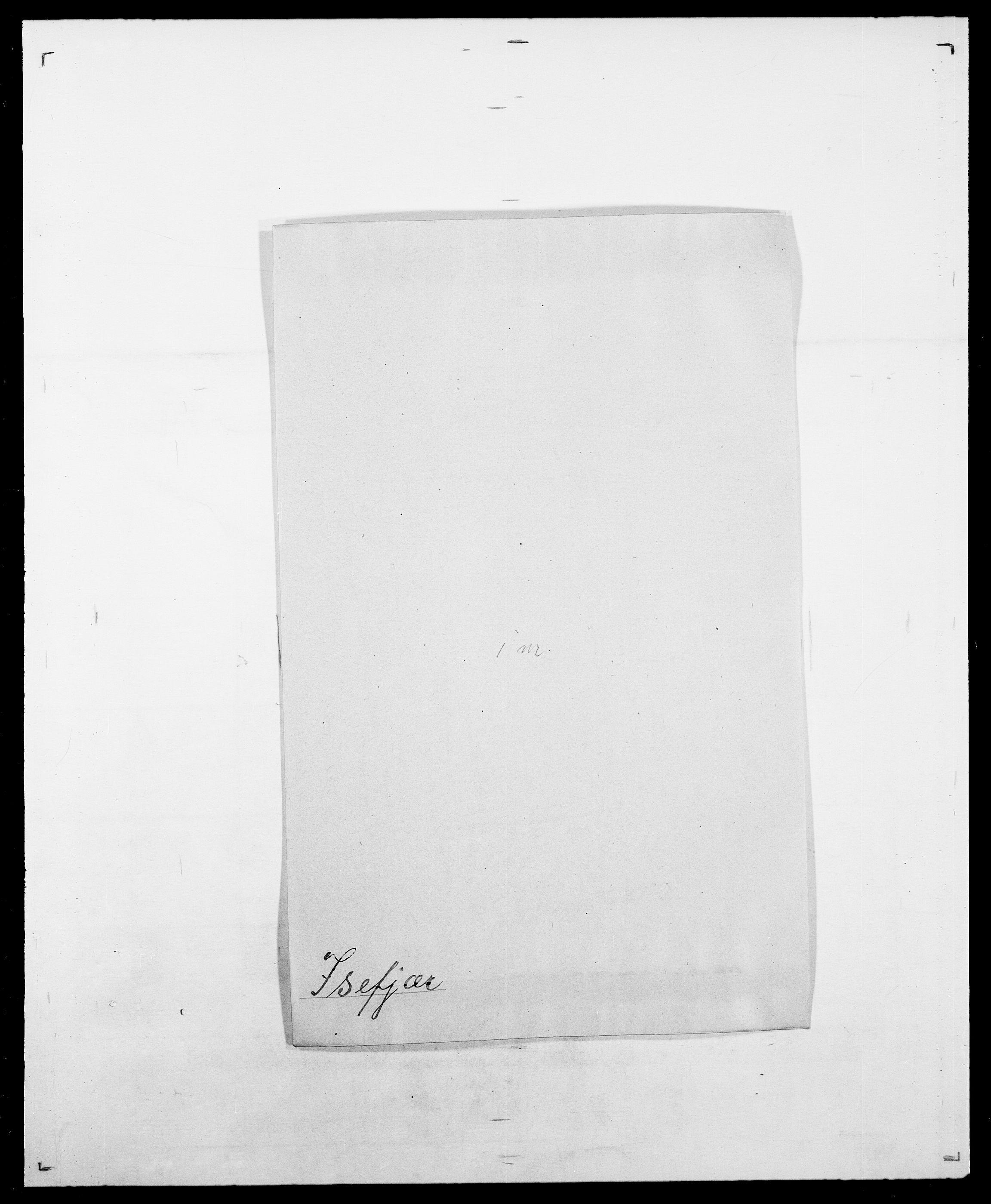 SAO, Delgobe, Charles Antoine - samling, D/Da/L0020: Irgens - Kjøsterud, s. 61