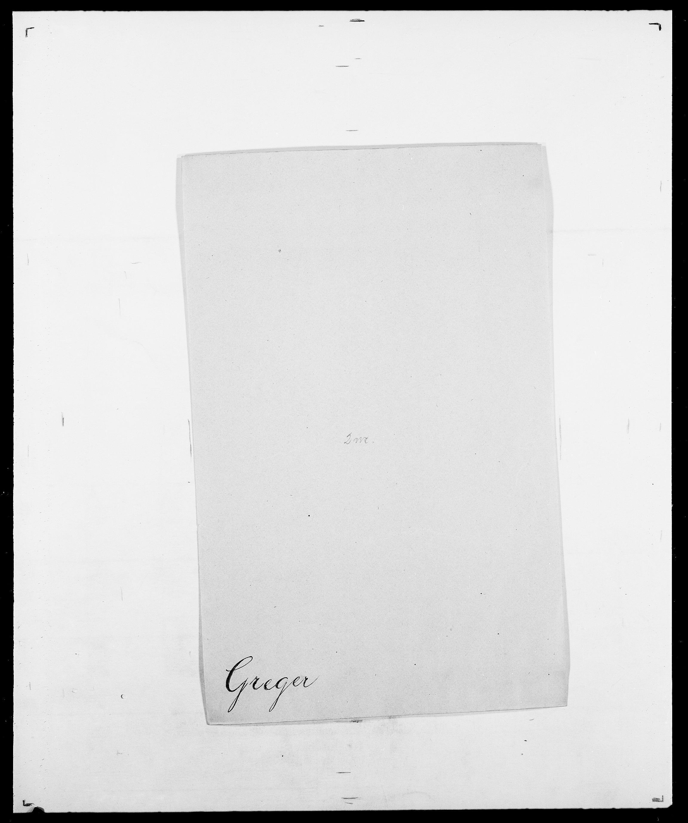 SAO, Delgobe, Charles Antoine - samling, D/Da/L0014: Giebdhausen - Grip, s. 591