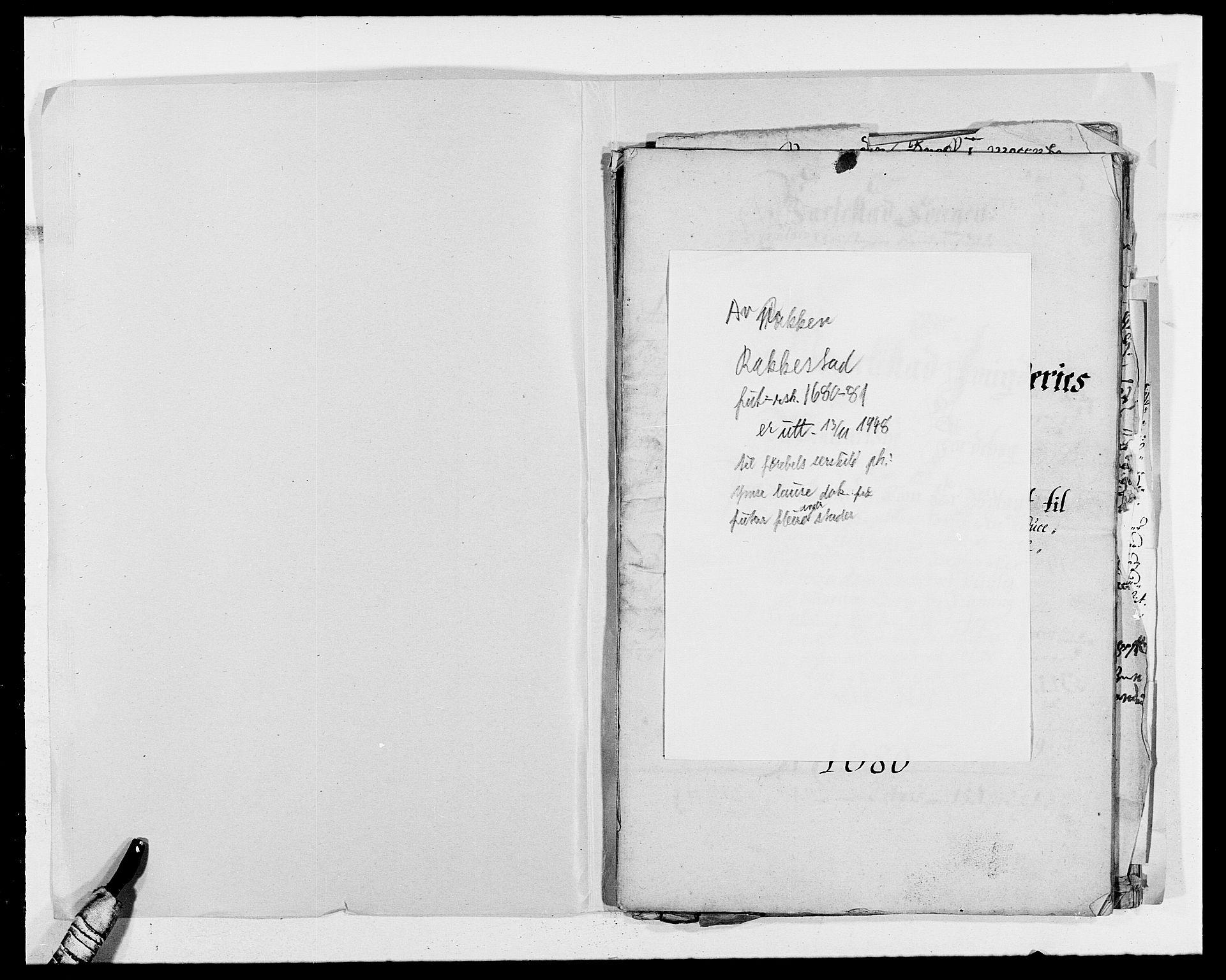 RA, Rentekammeret inntil 1814, Reviderte regnskaper, Fogderegnskap, R05/L0272: Fogderegnskap Rakkestad, 1680-1681, s. 403