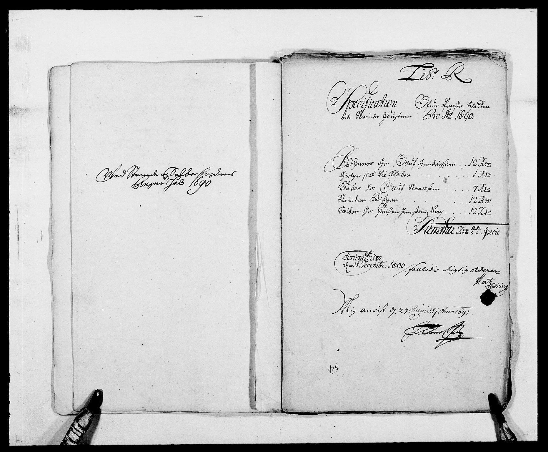 RA, Rentekammeret inntil 1814, Reviderte regnskaper, Fogderegnskap, R61/L4102: Fogderegnskap Strinda og Selbu, 1689-1690, s. 268