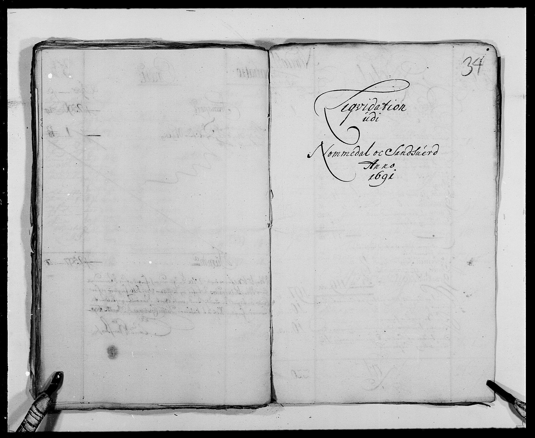 RA, Rentekammeret inntil 1814, Reviderte regnskaper, Fogderegnskap, R24/L1573: Fogderegnskap Numedal og Sandsvær, 1687-1691, s. 256