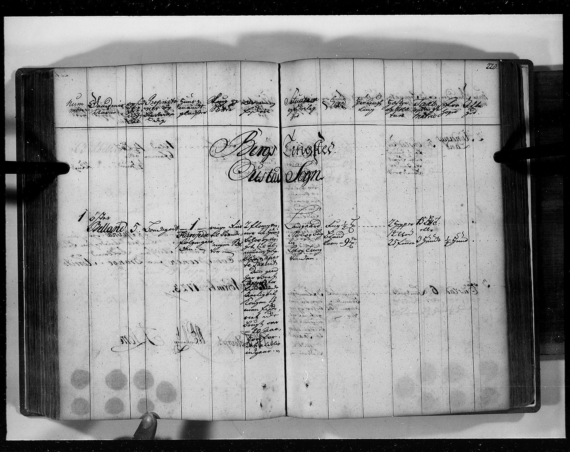 RA, Rentekammeret inntil 1814, Realistisk ordnet avdeling, N/Nb/Nbf/L0129: Lista eksaminasjonsprotokoll, 1723, s. 227b-228a