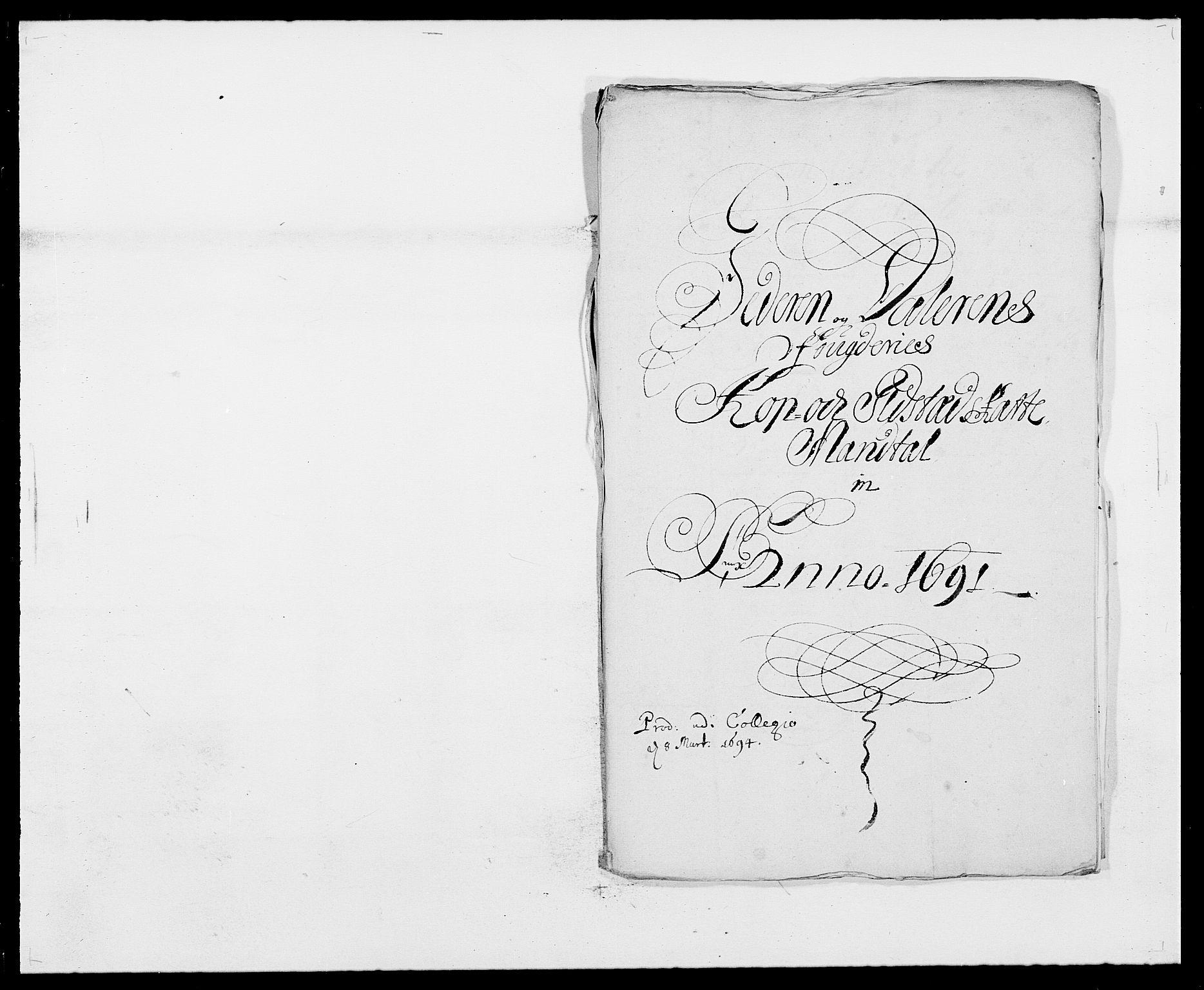 RA, Rentekammeret inntil 1814, Reviderte regnskaper, Fogderegnskap, R46/L2727: Fogderegnskap Jæren og Dalane, 1690-1693, s. 112