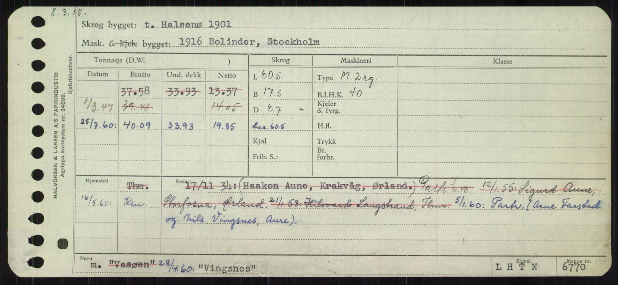 RA, Sjøfartsdirektoratet med forløpere, Skipsmålingen, H/Ha/L0006: Fartøy, Sver-Å, s. 527