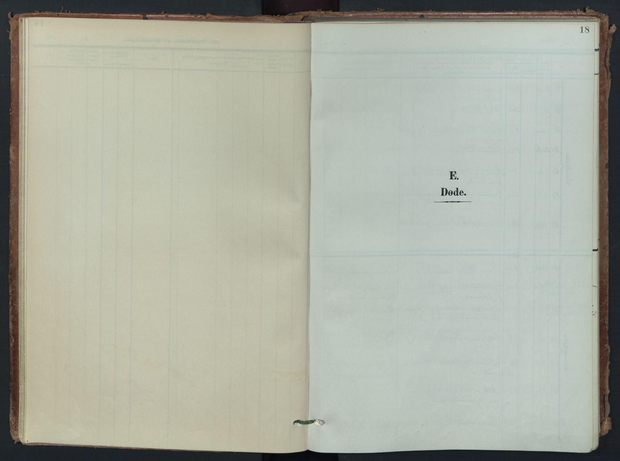 SAO, Vestre Aker prestekontor Kirkebøker, F/Fa/L0016: Ministerialbok nr. 16, 1904-1926, s. 18