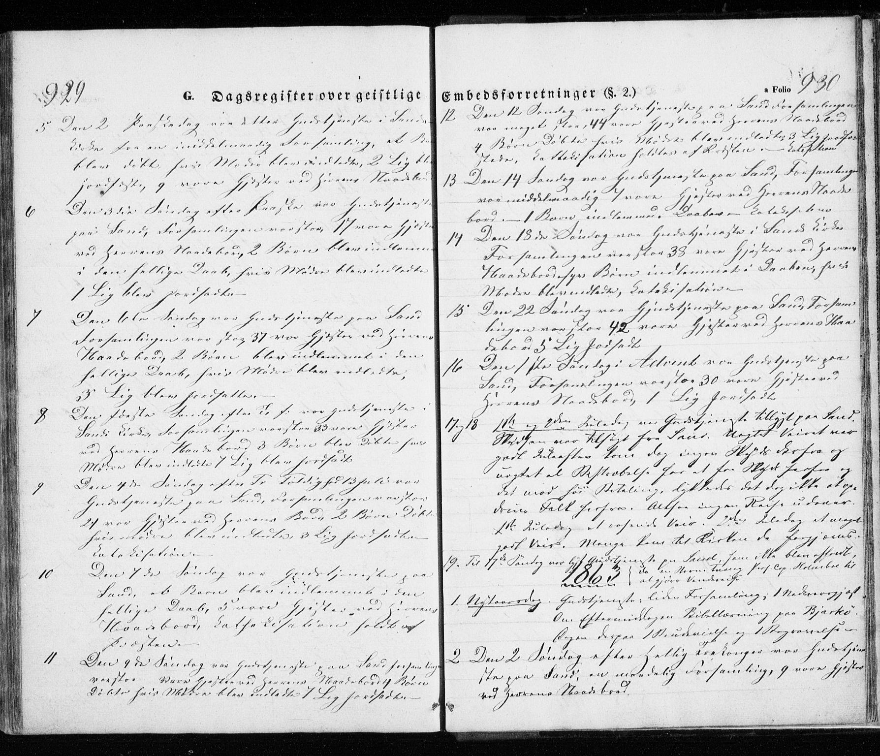 SATØ, Trondenes sokneprestkontor, H/Ha/L0010kirke: Ministerialbok nr. 10, 1840-1865, s. 929-930