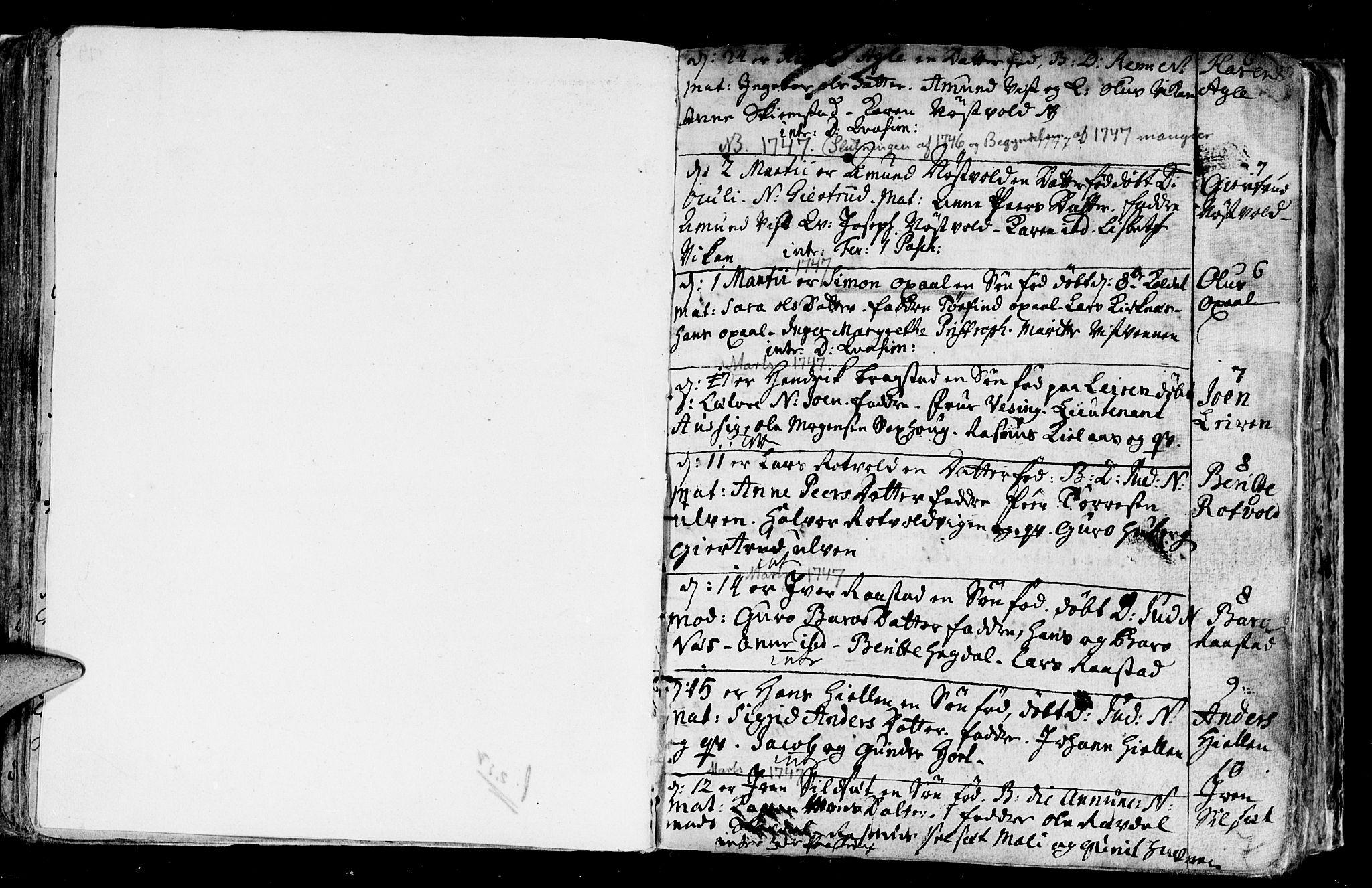 SAT, Ministerialprotokoller, klokkerbøker og fødselsregistre - Nord-Trøndelag, 730/L0272: Ministerialbok nr. 730A01, 1733-1764, s. 80