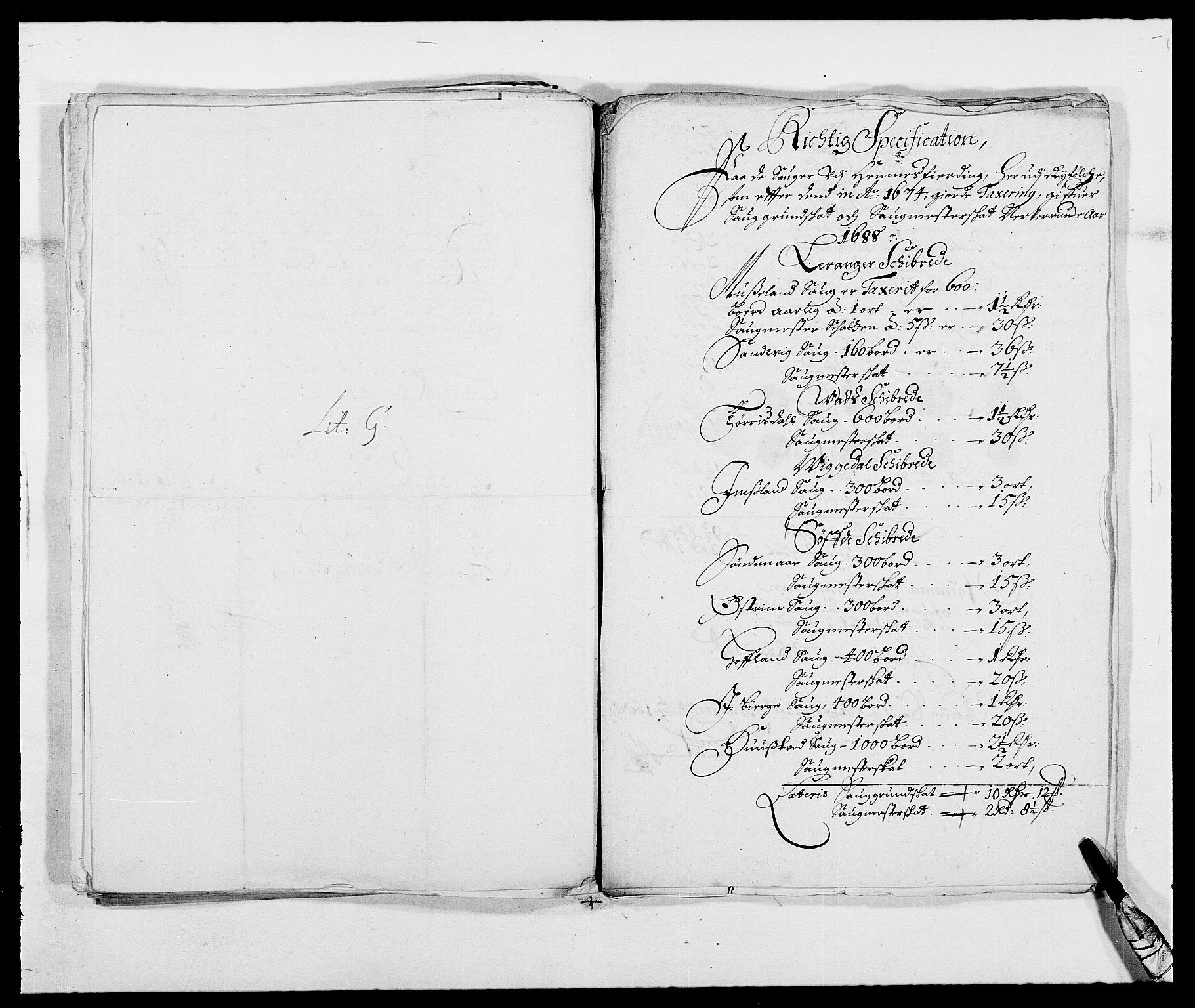 RA, Rentekammeret inntil 1814, Reviderte regnskaper, Fogderegnskap, R47/L2855: Fogderegnskap Ryfylke, 1685-1688, s. 387