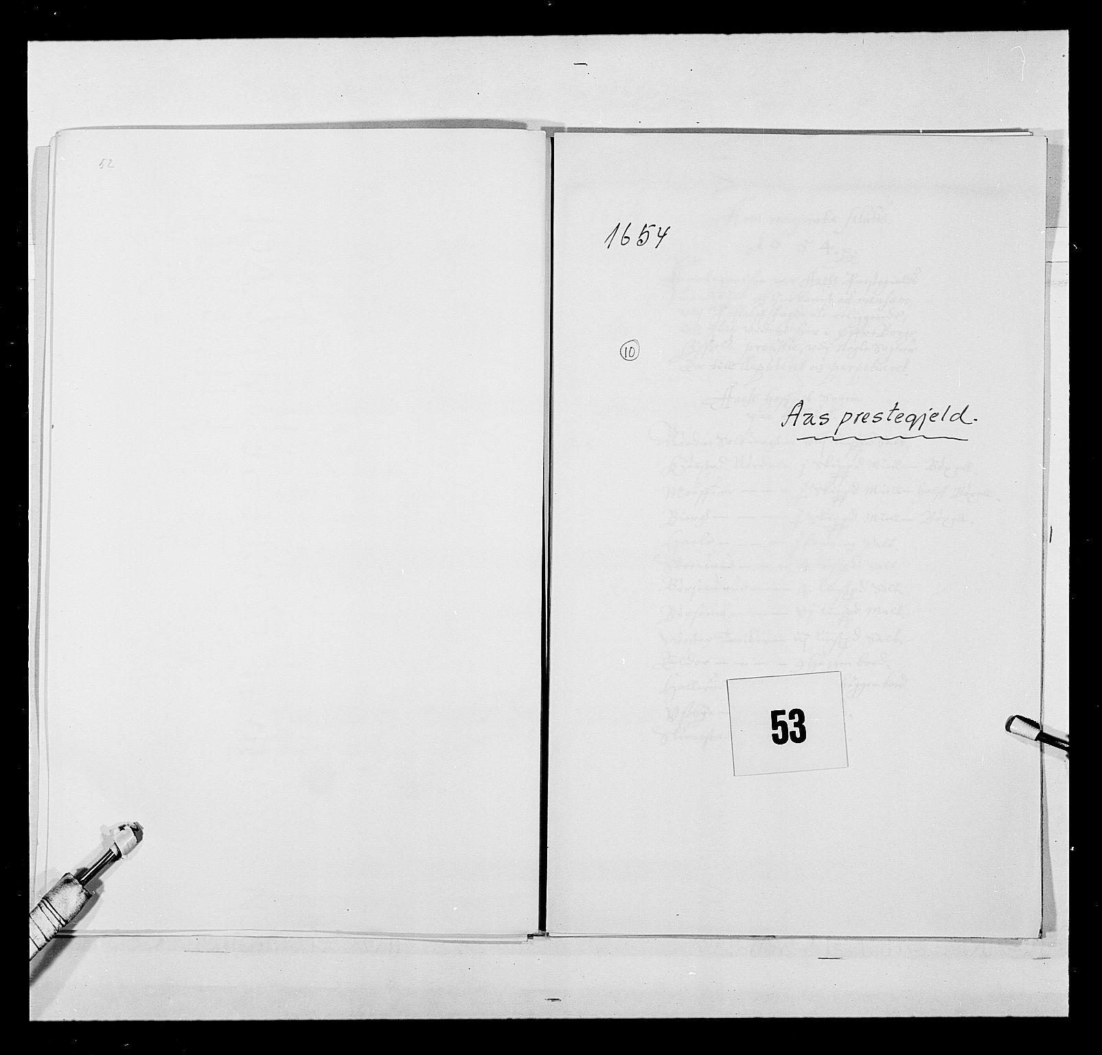 RA, Stattholderembetet 1572-1771, Ek/L0030: Jordebøker 1633-1658:, 1654, s. 253