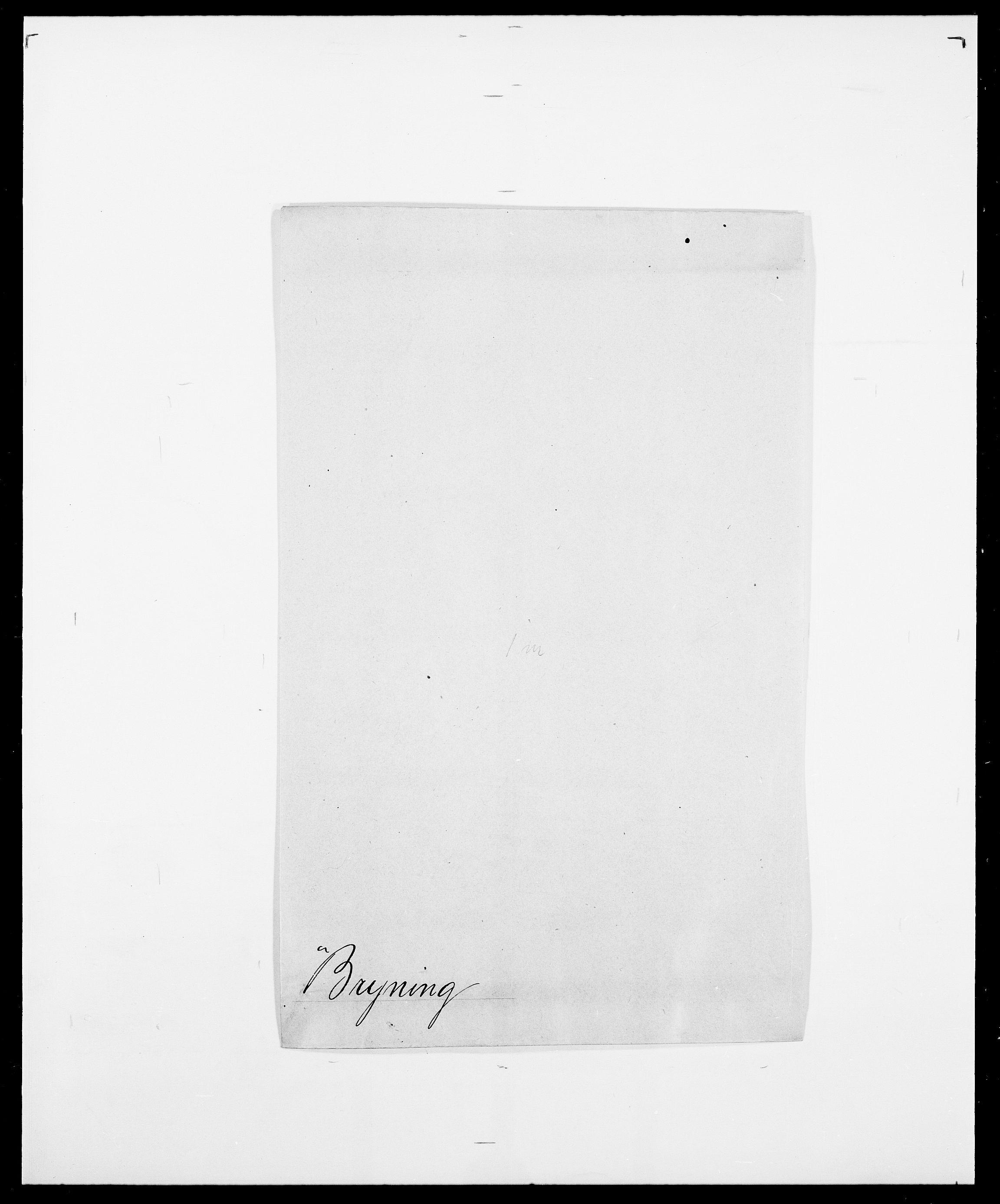 SAO, Delgobe, Charles Antoine - samling, D/Da/L0006: Brambani - Brønø, s. 923