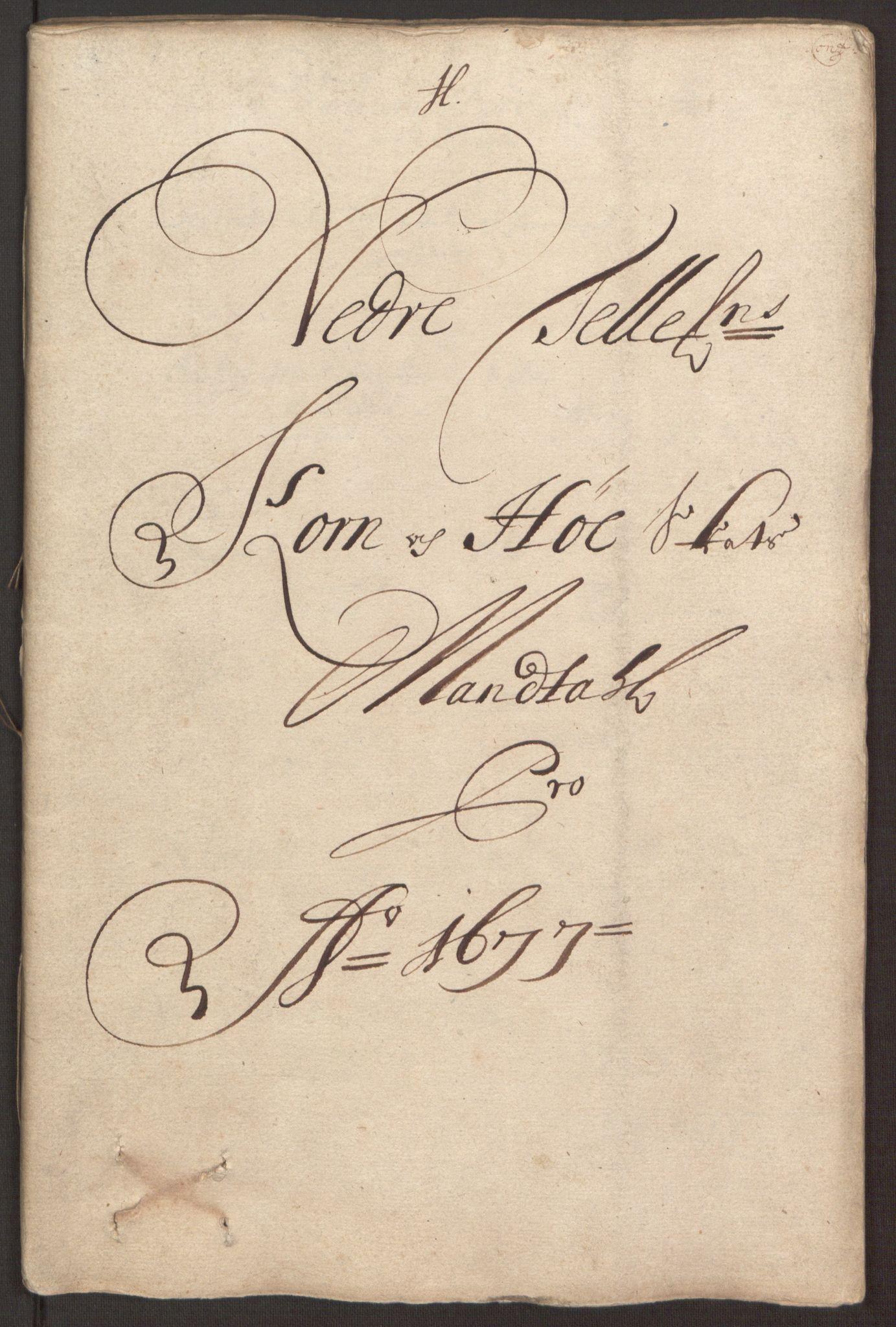 RA, Rentekammeret inntil 1814, Reviderte regnskaper, Fogderegnskap, R35/L2068: Fogderegnskap Øvre og Nedre Telemark, 1677, s. 172