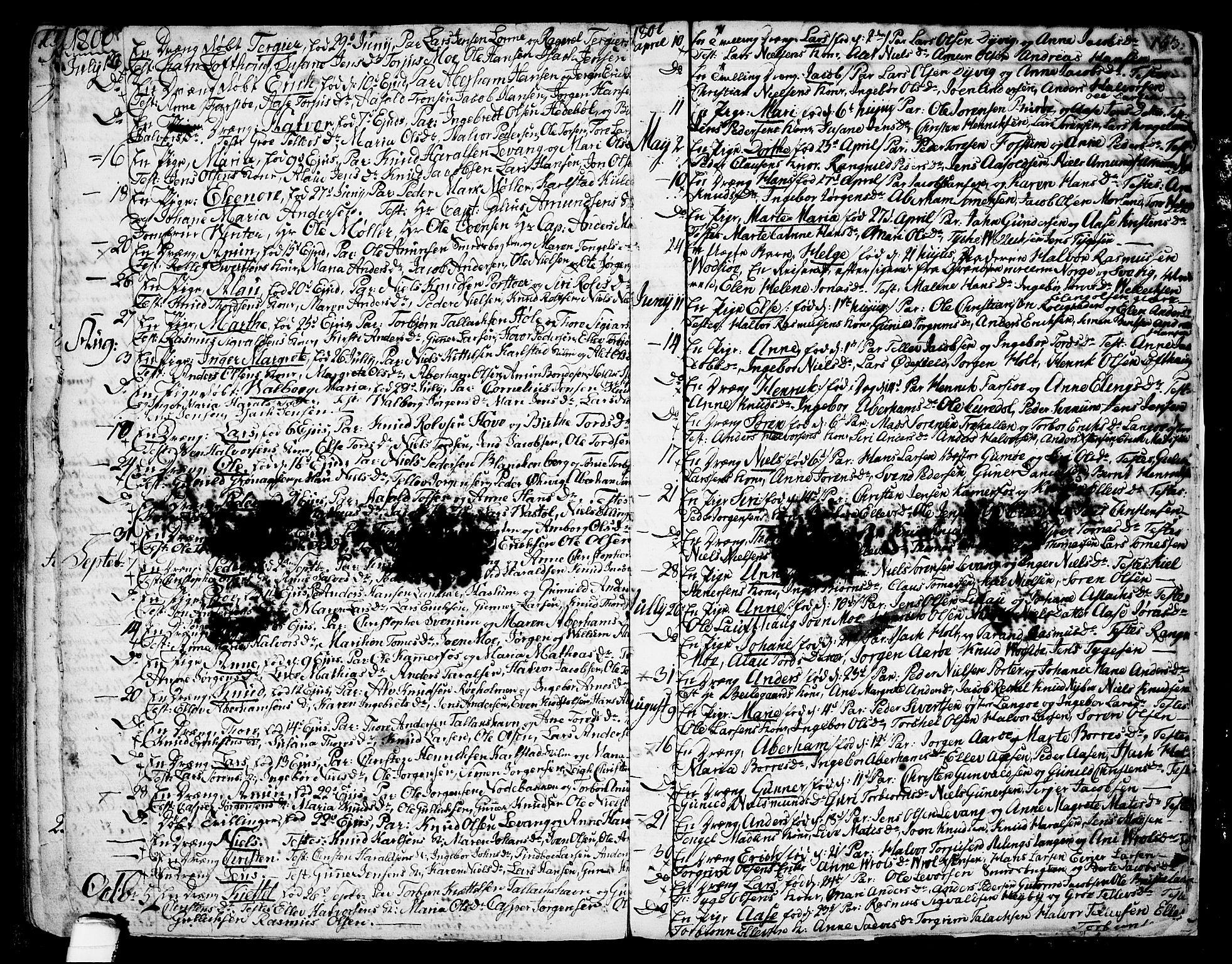 SAKO, Sannidal kirkebøker, F/Fa/L0002: Ministerialbok nr. 2, 1767-1802, s. 163