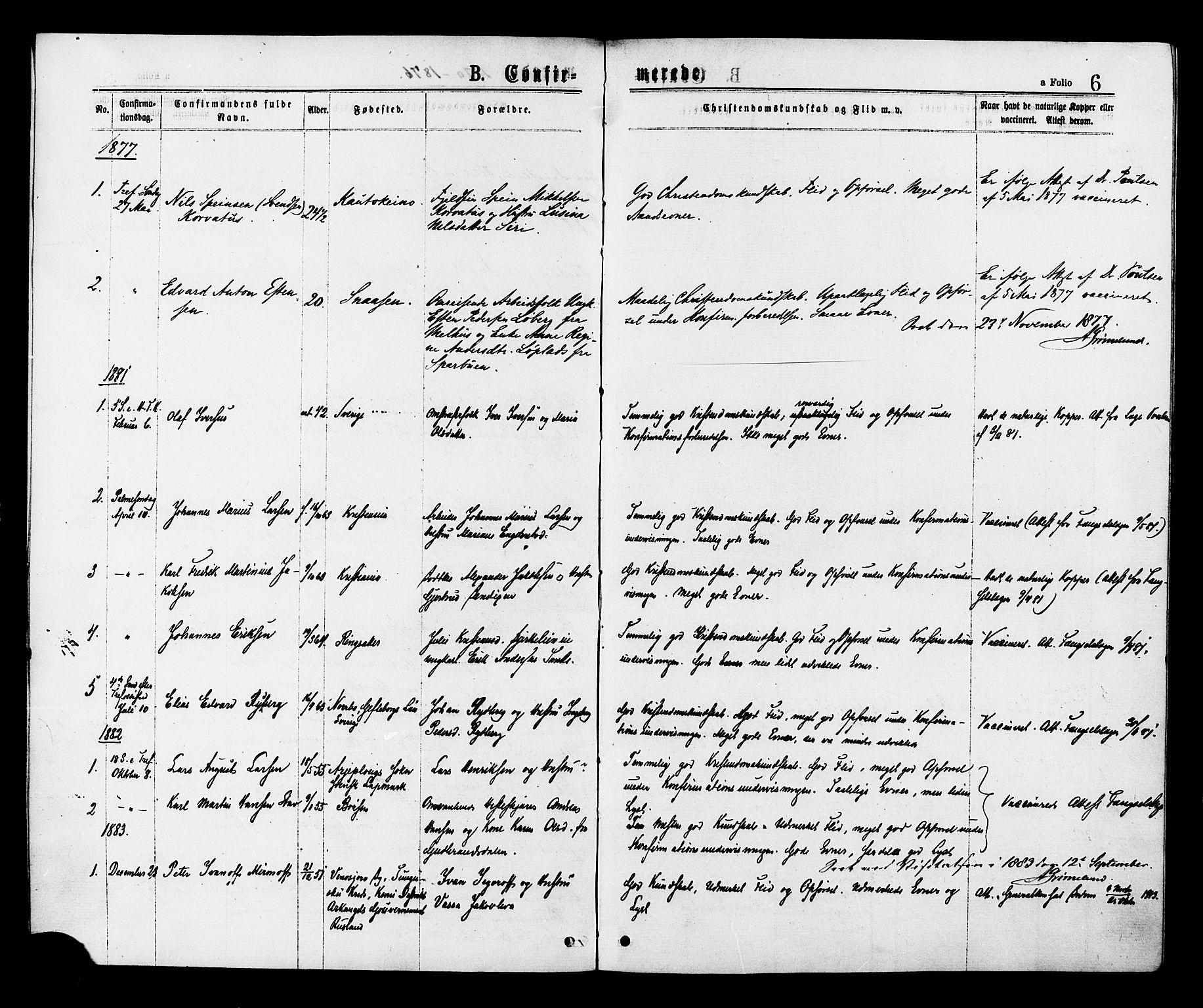 SAT, Ministerialprotokoller, klokkerbøker og fødselsregistre - Sør-Trøndelag, 624/L0482: Ministerialbok nr. 624A03, 1870-1918, s. 6