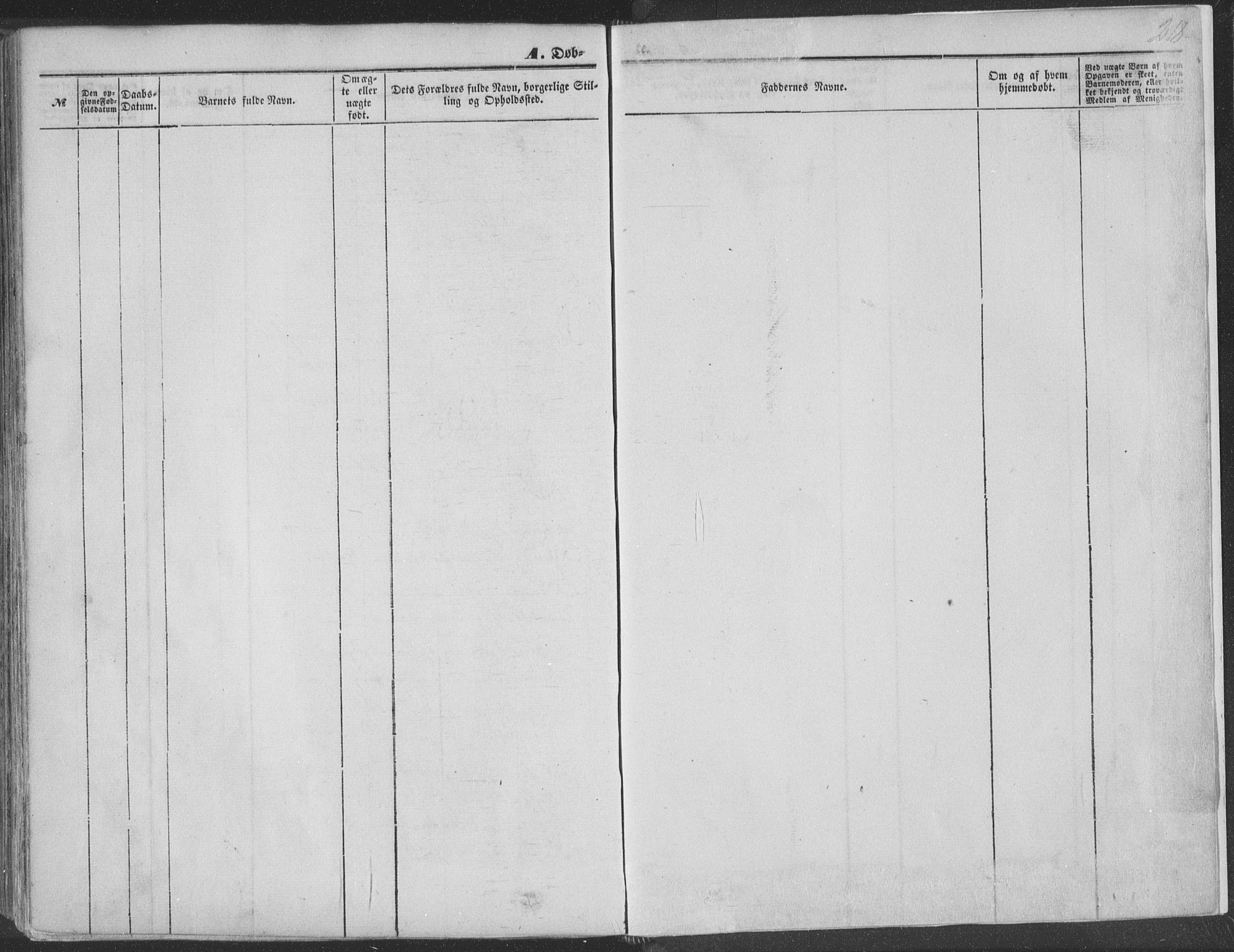 SAKO, Seljord kirkebøker, F/Fa/L012a: Ministerialbok nr. I 12A, 1850-1865, s. 218