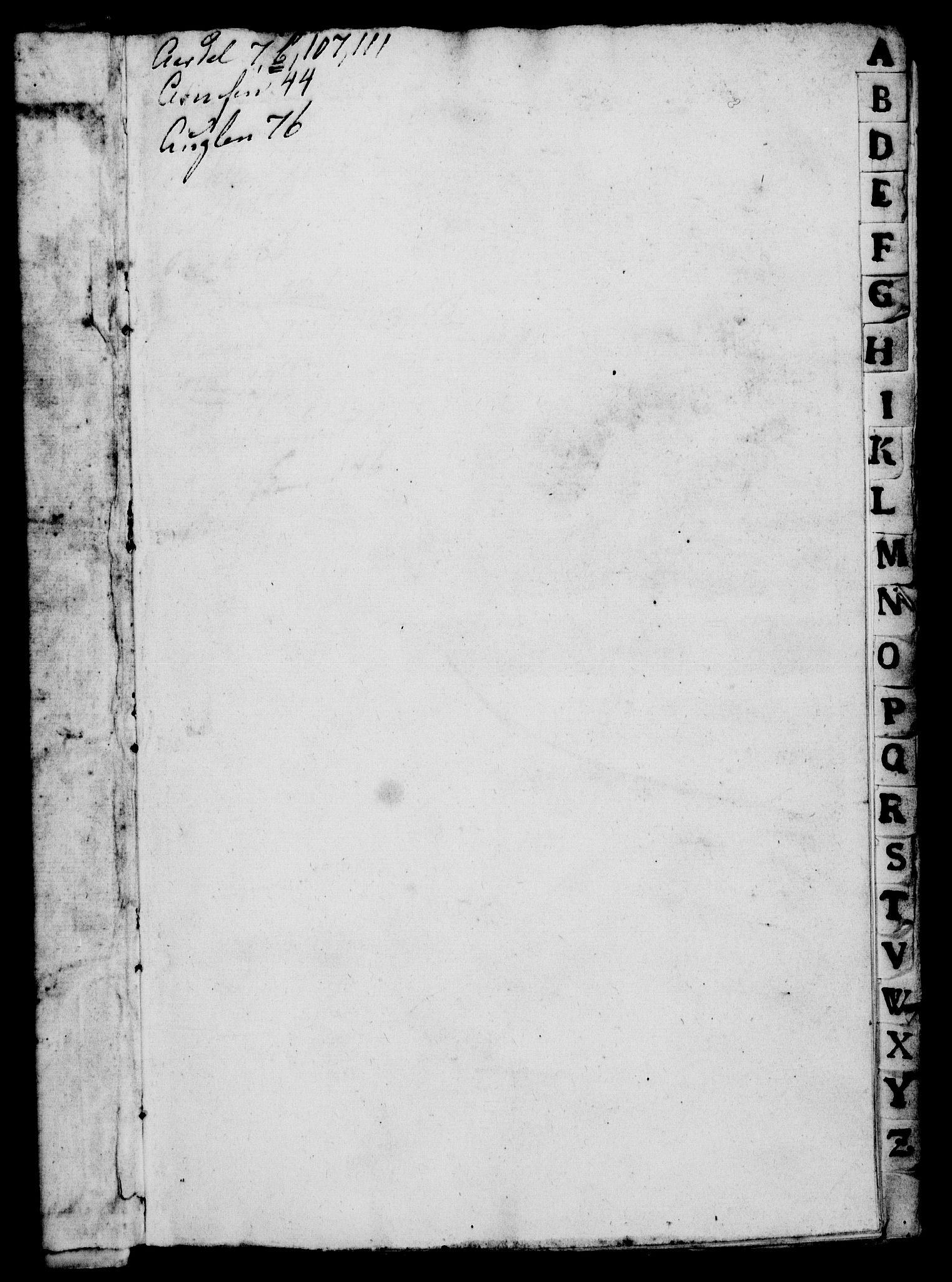 RA, Rentekammeret, Kammerkanselliet, G/Gf/Gfa/L0010: Norsk relasjons- og resolusjonsprotokoll (merket RK 52.10), 1727, s. 3