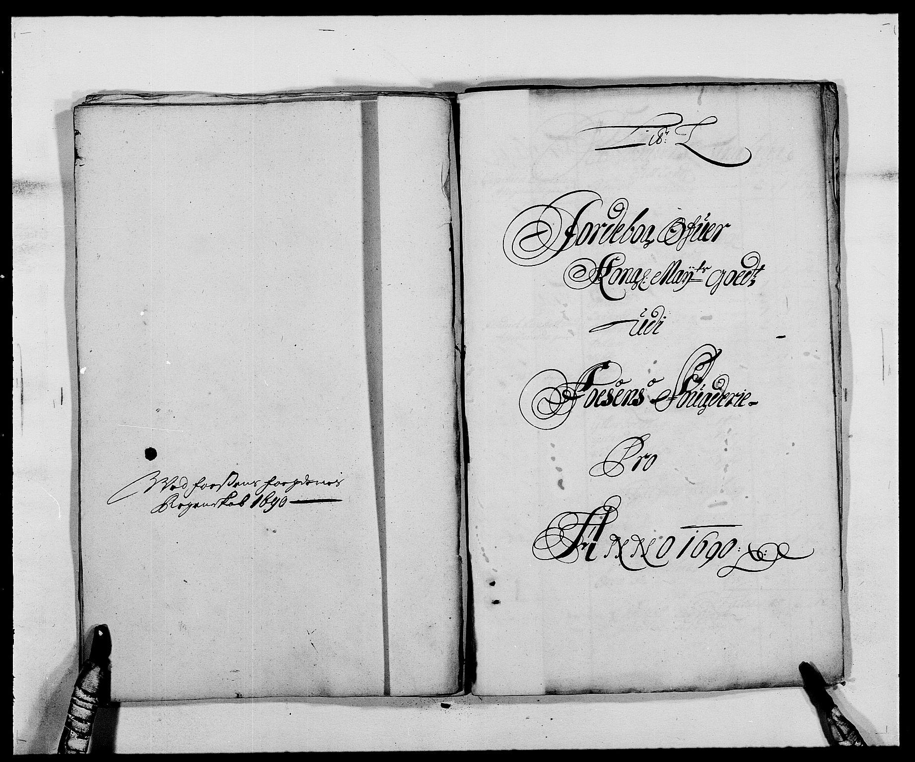RA, Rentekammeret inntil 1814, Reviderte regnskaper, Fogderegnskap, R57/L3848: Fogderegnskap Fosen, 1690-1691, s. 159