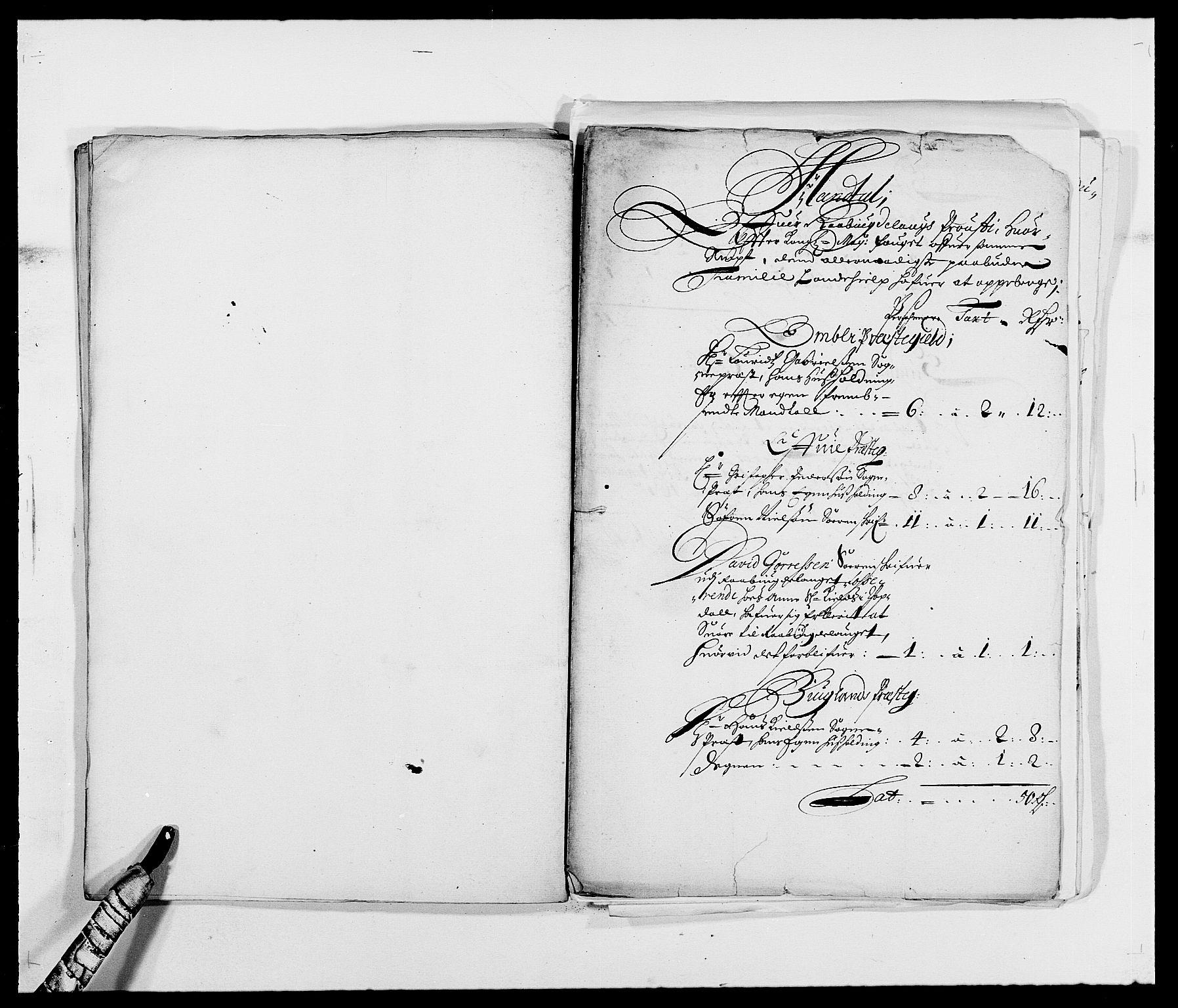 RA, Rentekammeret inntil 1814, Reviderte regnskaper, Fogderegnskap, R40/L2434: Fogderegnskap Råbyggelag, 1675-1676, s. 114