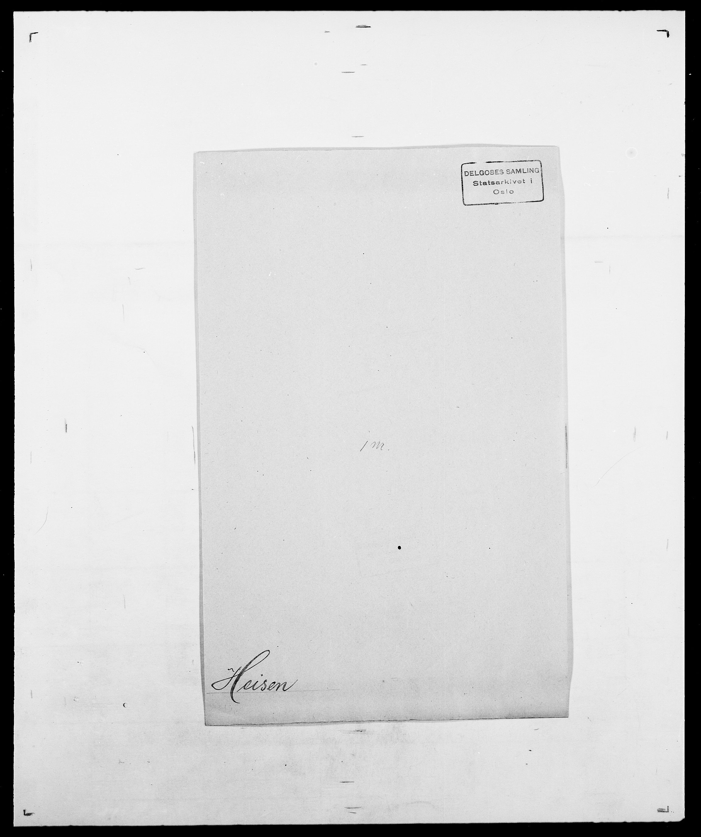 SAO, Delgobe, Charles Antoine - samling, D/Da/L0016: Hamborg - Hektoen, s. 862