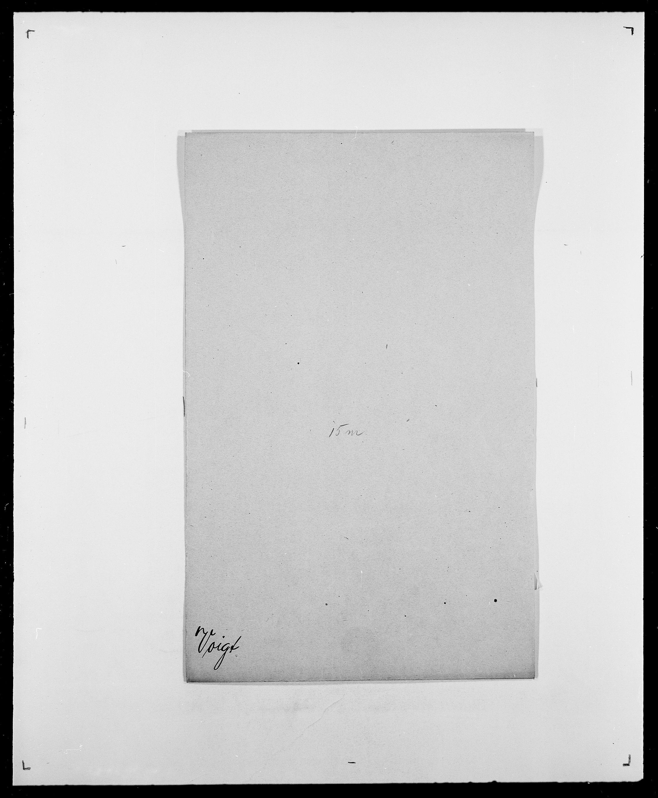 SAO, Delgobe, Charles Antoine - samling, D/Da/L0042: Vilain - Wulf, Wulff, se også Wolf, s. 572