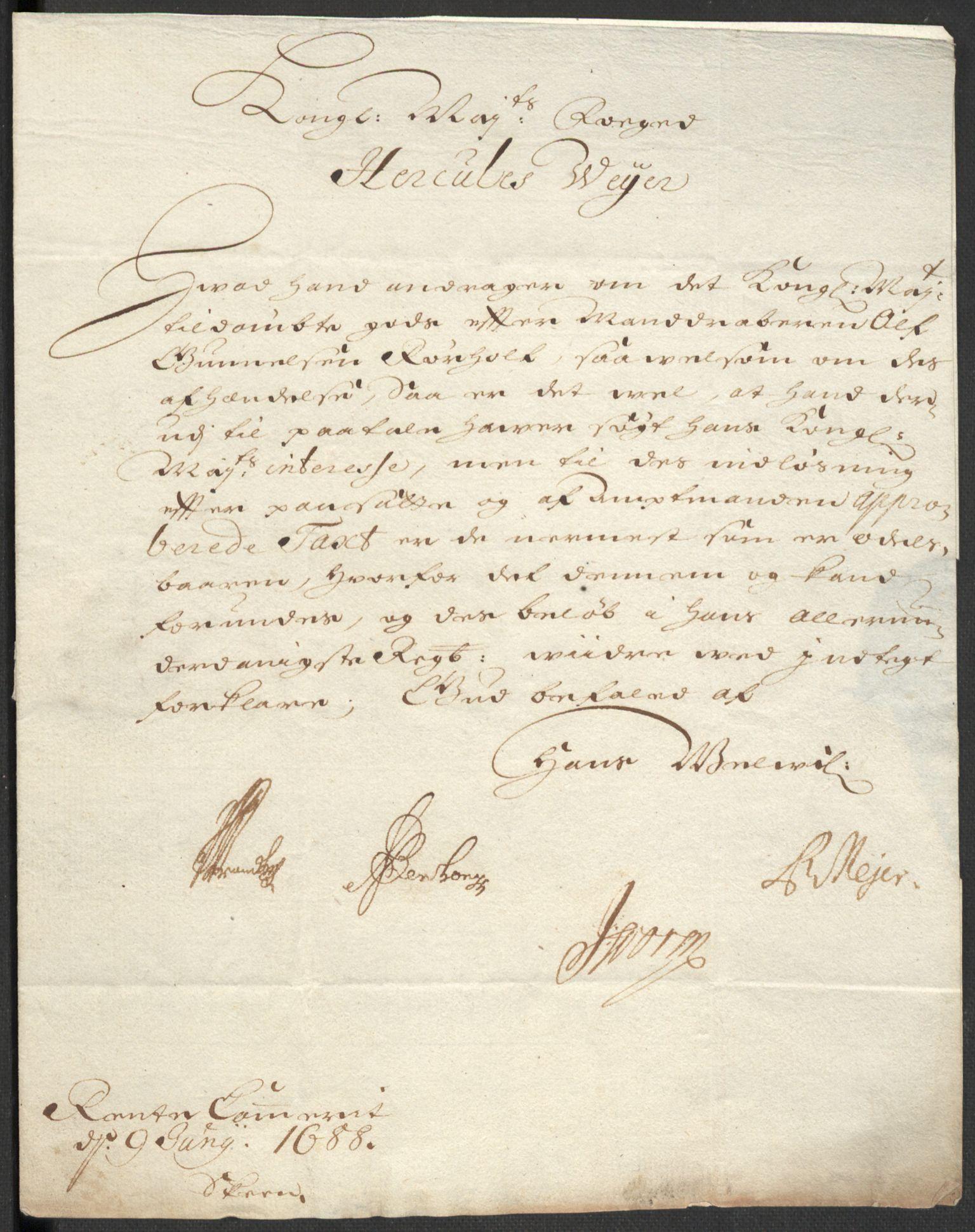 RA, Rentekammeret inntil 1814, Reviderte regnskaper, Fogderegnskap, R35/L2088: Fogderegnskap Øvre og Nedre Telemark, 1687-1689, s. 81