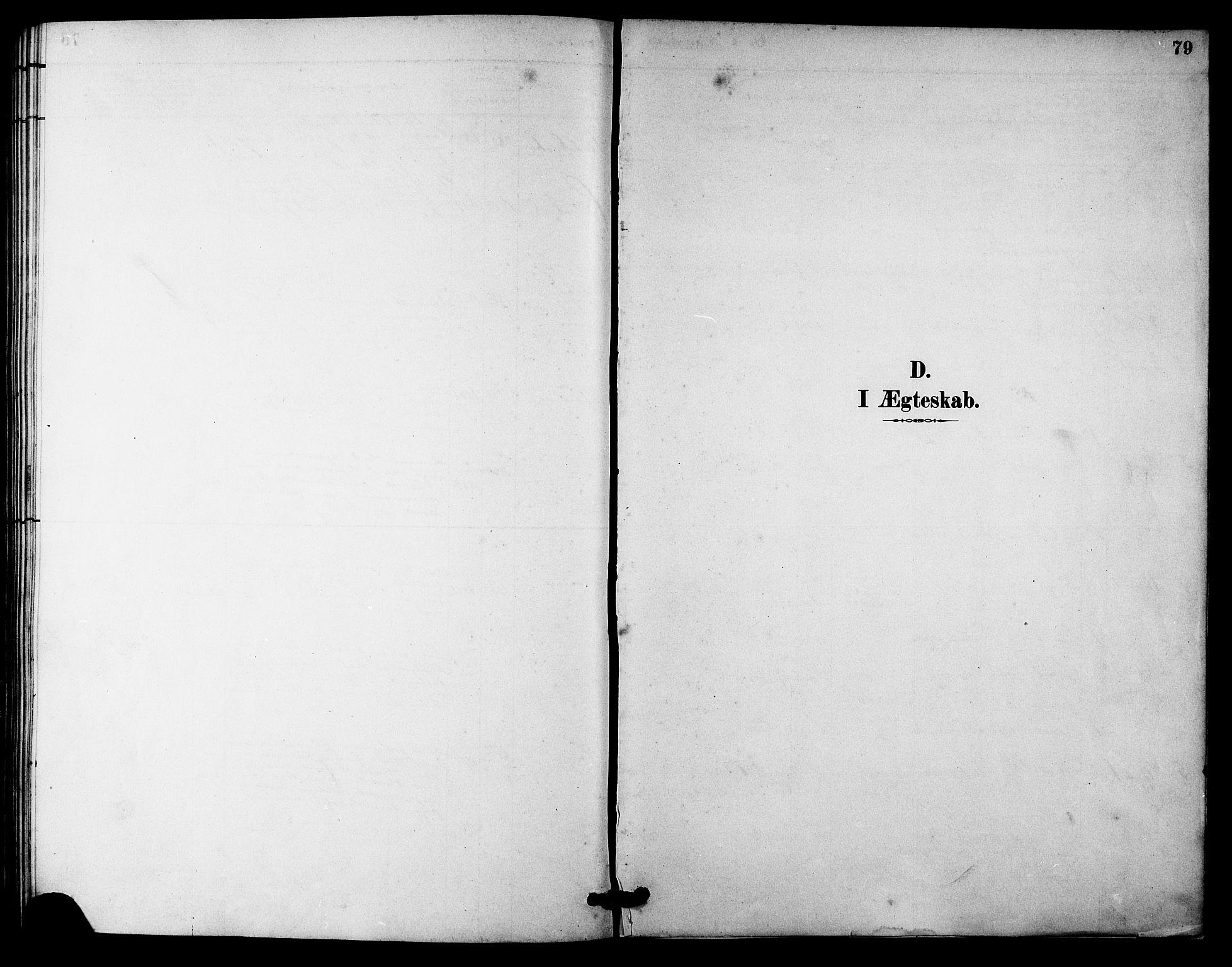 SAT, Ministerialprotokoller, klokkerbøker og fødselsregistre - Sør-Trøndelag, 633/L0519: Klokkerbok nr. 633C01, 1884-1905, s. 79