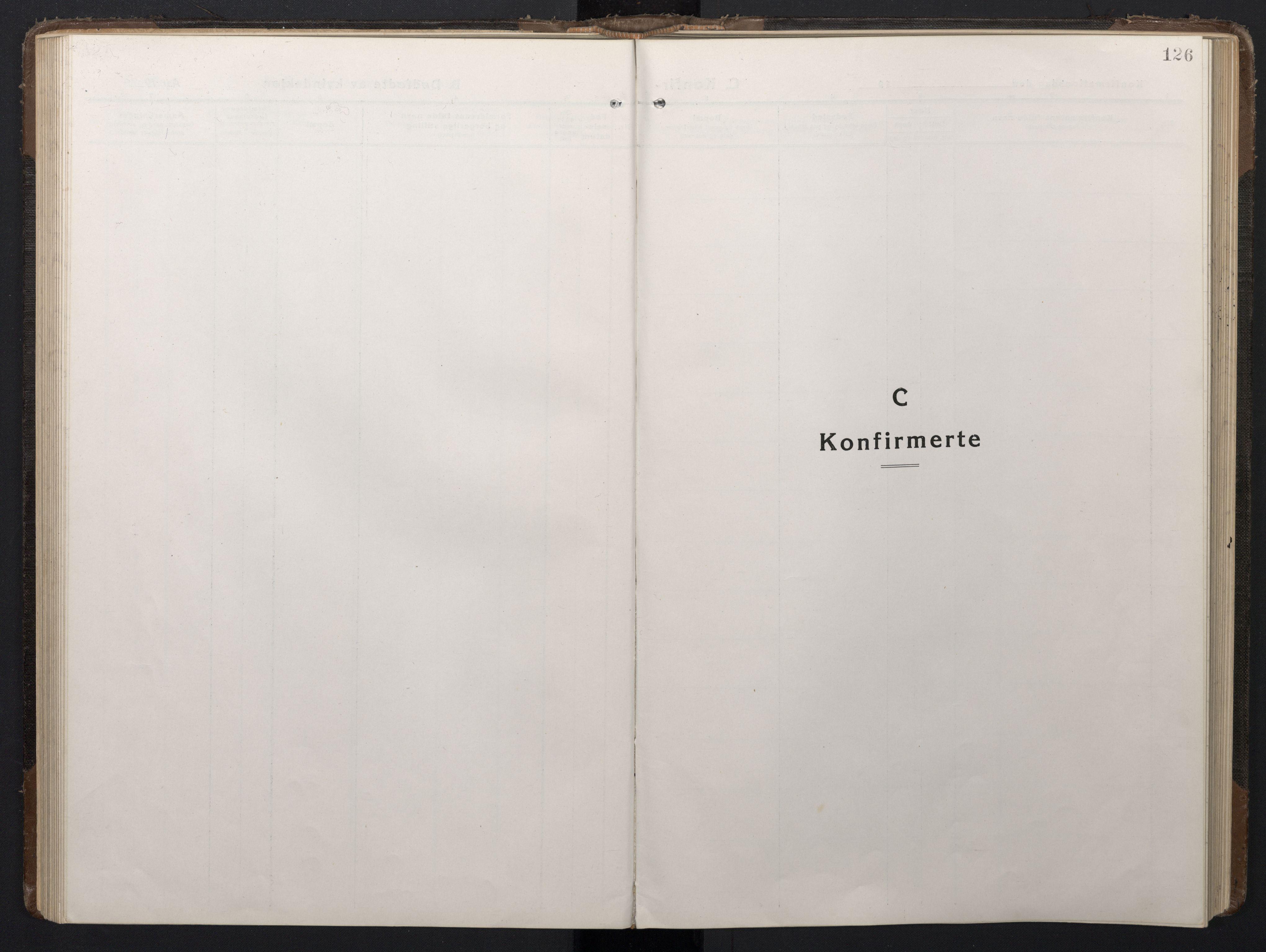 SAT, Ministerialprotokoller, klokkerbøker og fødselsregistre - Sør-Trøndelag, 662/L0758: Klokkerbok nr. 662C03, 1918-1948, s. 126