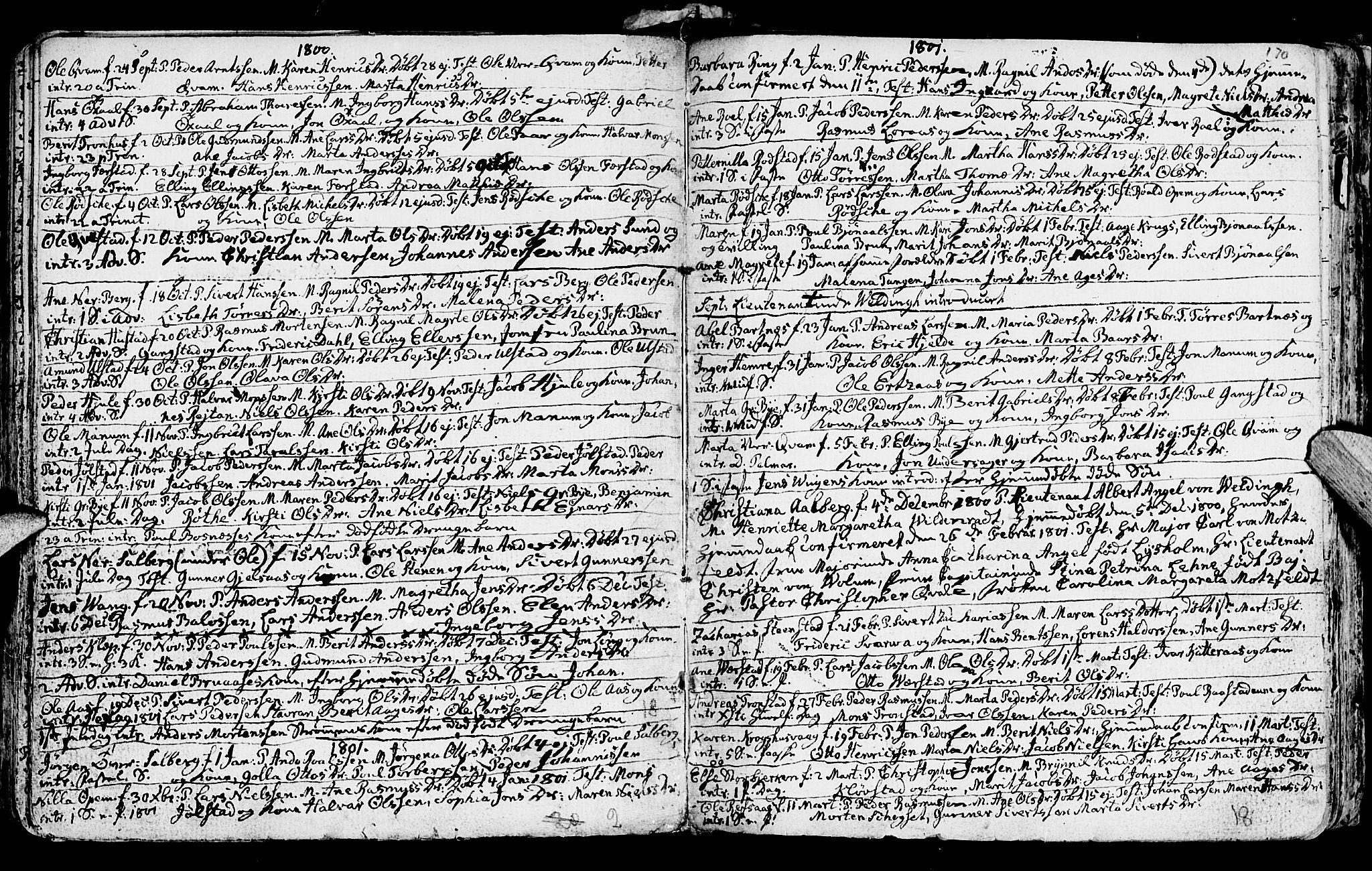 SAT, Ministerialprotokoller, klokkerbøker og fødselsregistre - Nord-Trøndelag, 730/L0273: Ministerialbok nr. 730A02, 1762-1802, s. 170
