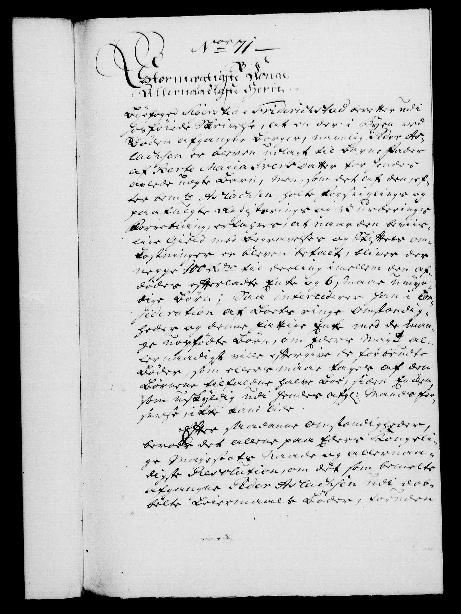 RA, Rentekammeret, Kammerkanselliet, G/Gf/Gfa/L0045: Norsk relasjons- og resolusjonsprotokoll (merket RK 52.45), 1763, s. 310