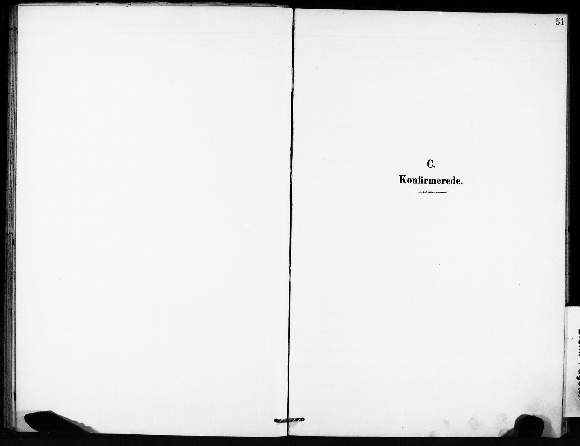 SAT, Ministerialprotokoller, klokkerbøker og fødselsregistre - Sør-Trøndelag, 666/L0787: Ministerialbok nr. 666A05, 1895-1908, s. 51