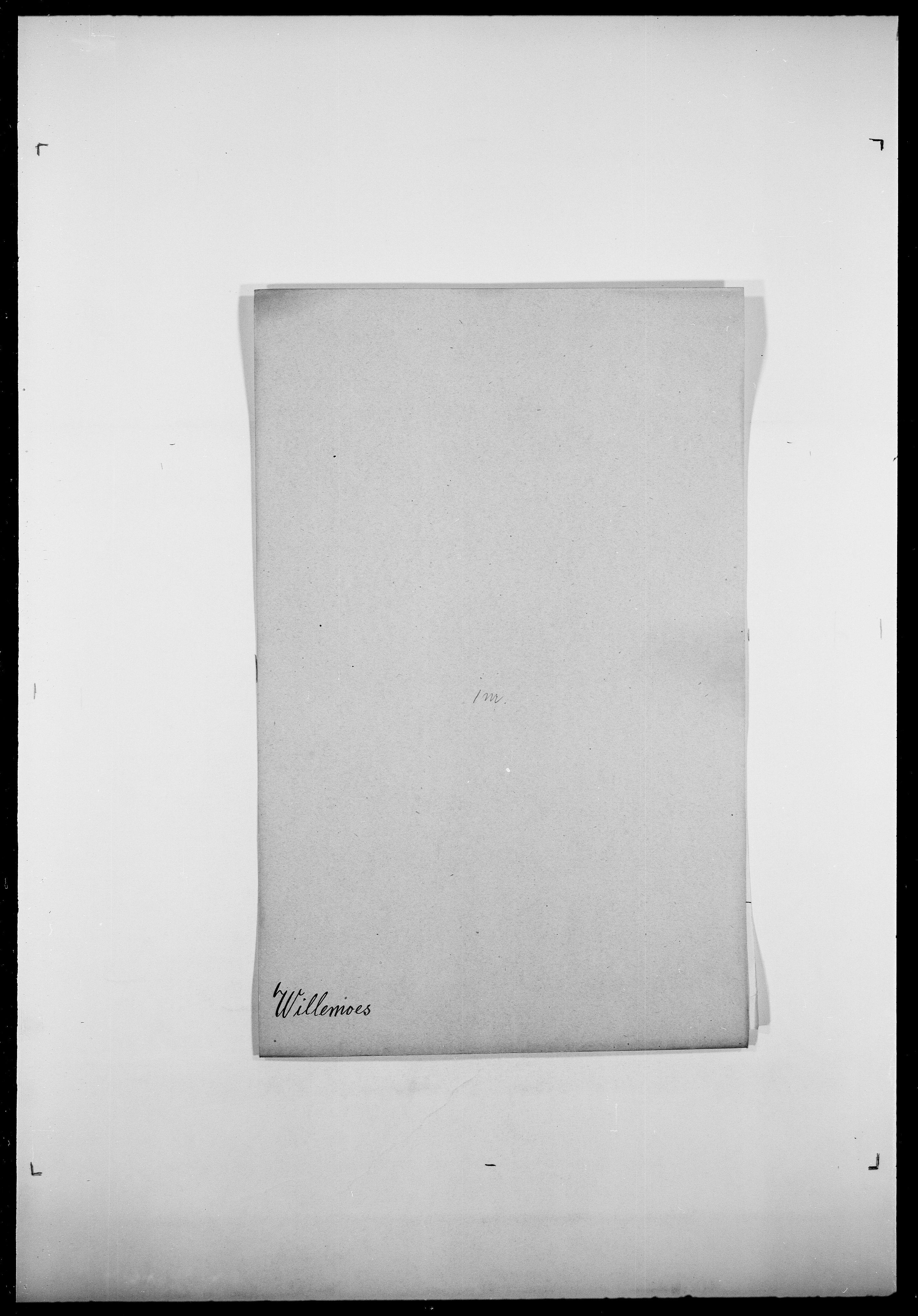 SAO, Delgobe, Charles Antoine - samling, D/Da/L0042: Vilain - Wulf, Wulff, se også Wolf, s. 85
