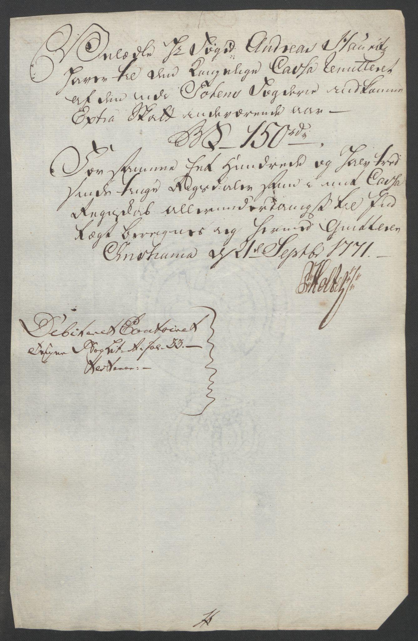 RA, Rentekammeret inntil 1814, Reviderte regnskaper, Fogderegnskap, R19/L1399: Fogderegnskap Toten, Hadeland og Vardal, 1762-1783, s. 233