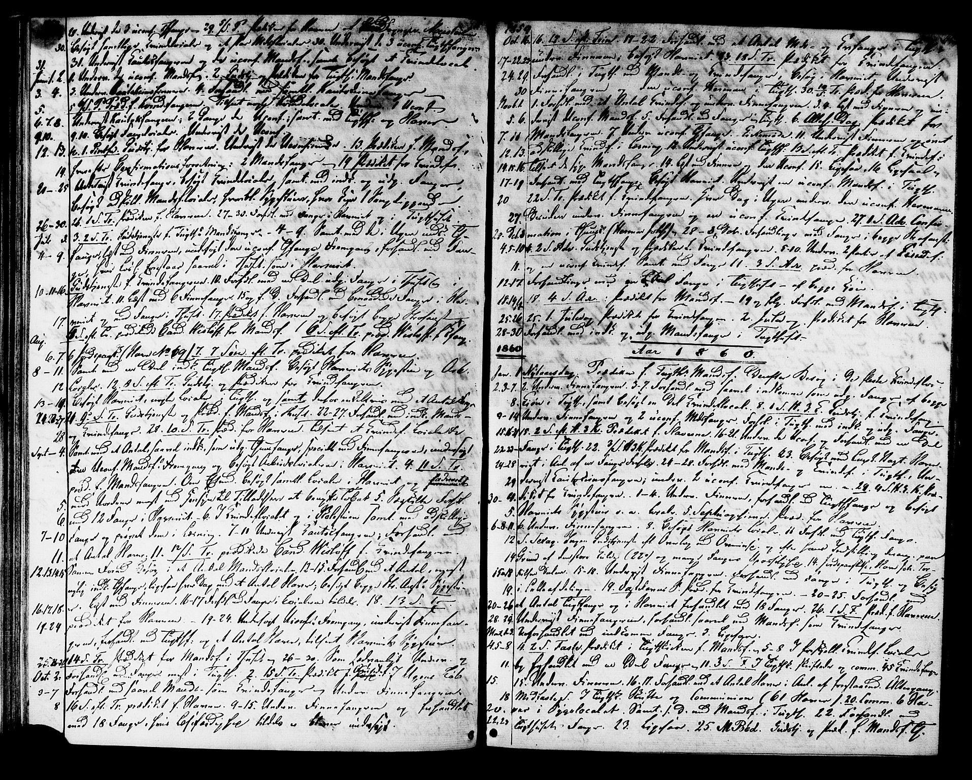 SAT, Ministerialprotokoller, klokkerbøker og fødselsregistre - Sør-Trøndelag, 624/L0481: Ministerialbok nr. 624A02, 1841-1869, s. 45
