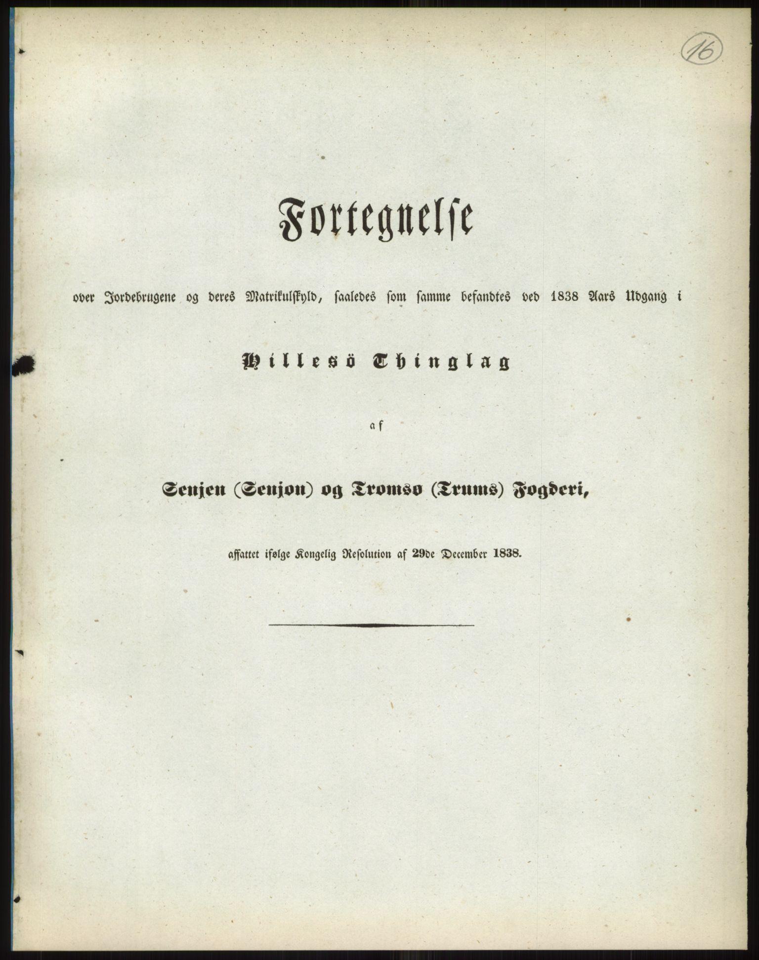 RA, 1838-matrikkelen (publikasjon)*, 1838, s. 16a