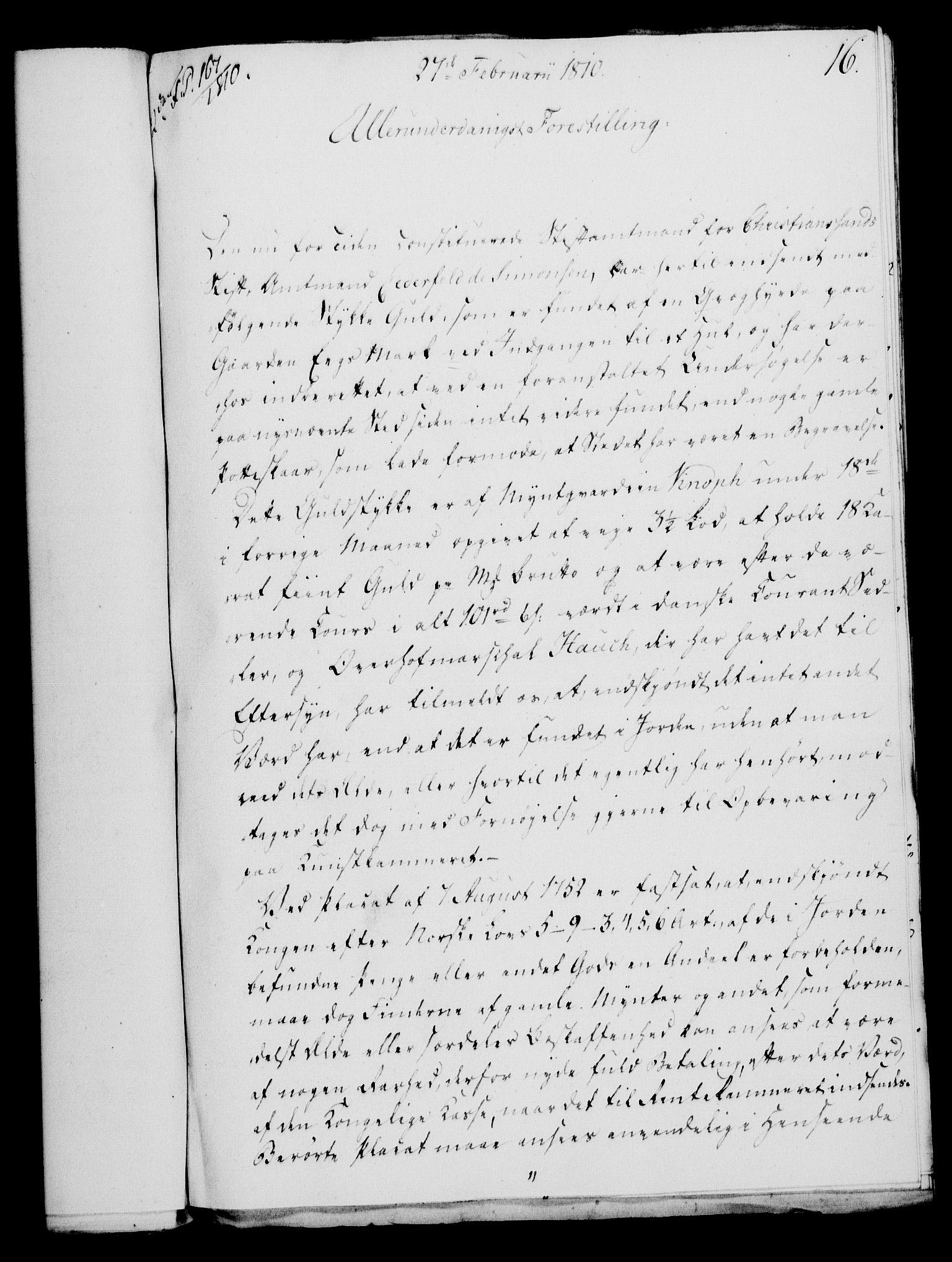 RA, Rentekammeret, Kammerkanselliet, G/Gf/Gfa/L0092: Norsk relasjons- og resolusjonsprotokoll (merket RK 52.92), 1810, s. 62