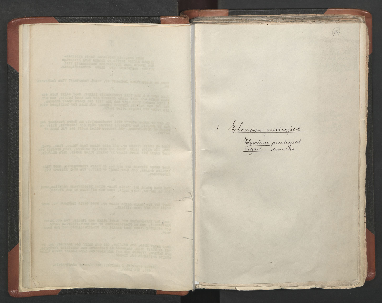 RA, Sogneprestenes manntall 1664-1666, nr. 5: Hedmark prosti, 1664-1666, s. 1a